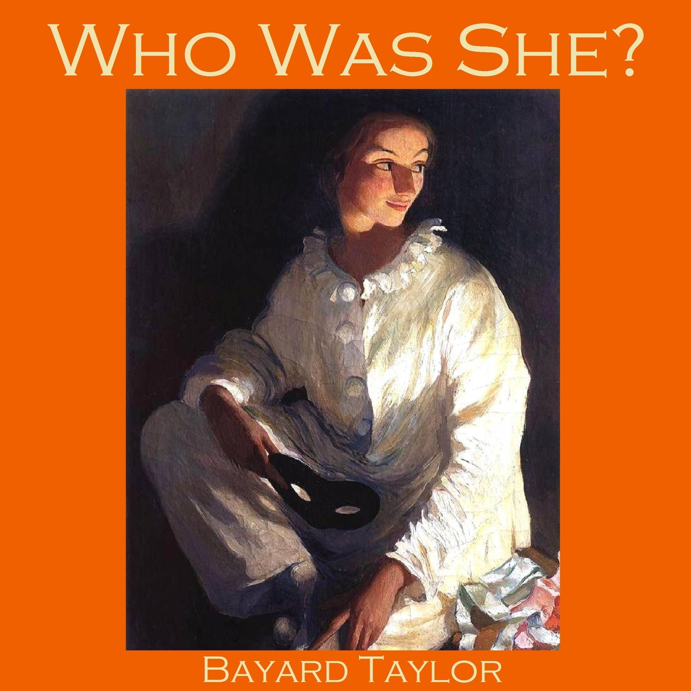 Printable Who Was She? Audiobook Cover Art