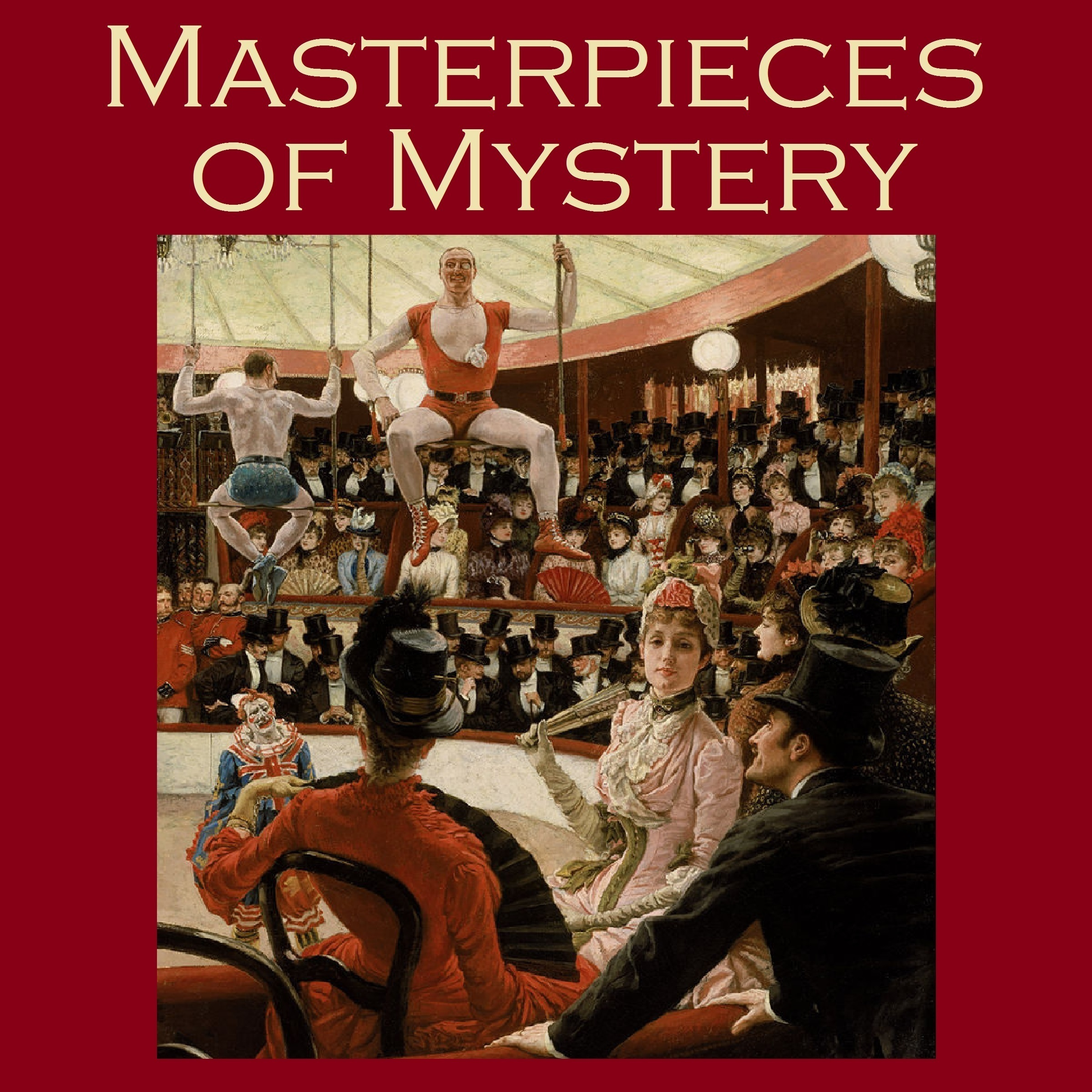 Printable Masterpieces of Mystery Audiobook Cover Art
