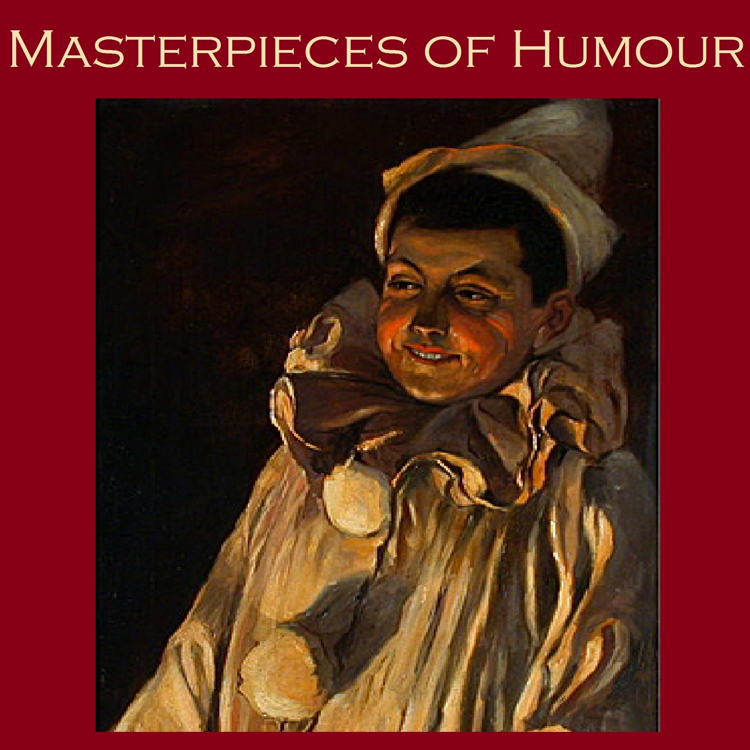 Printable Masterpieces of Humor Audiobook Cover Art