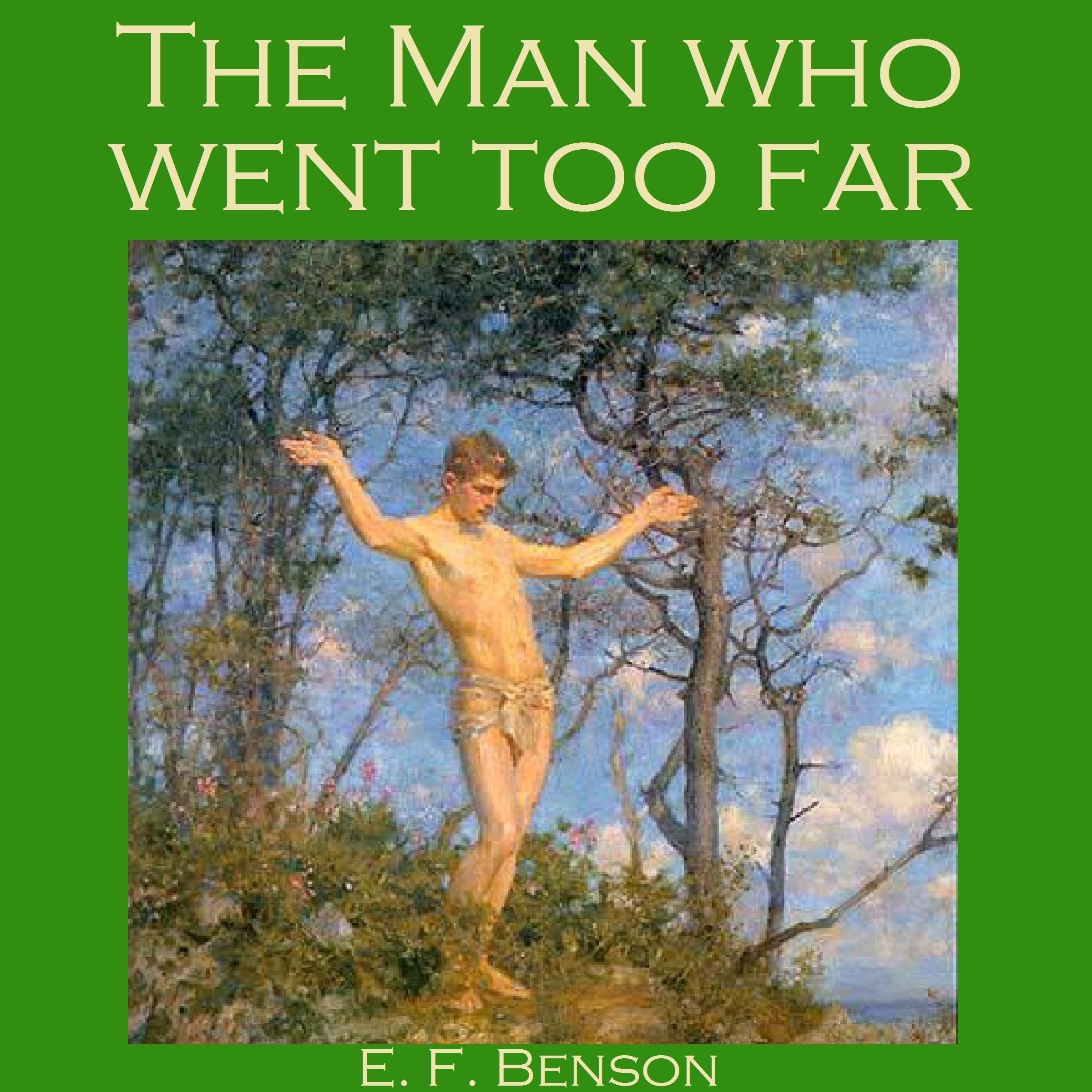 Printable The Man Who Went Too Far Audiobook Cover Art