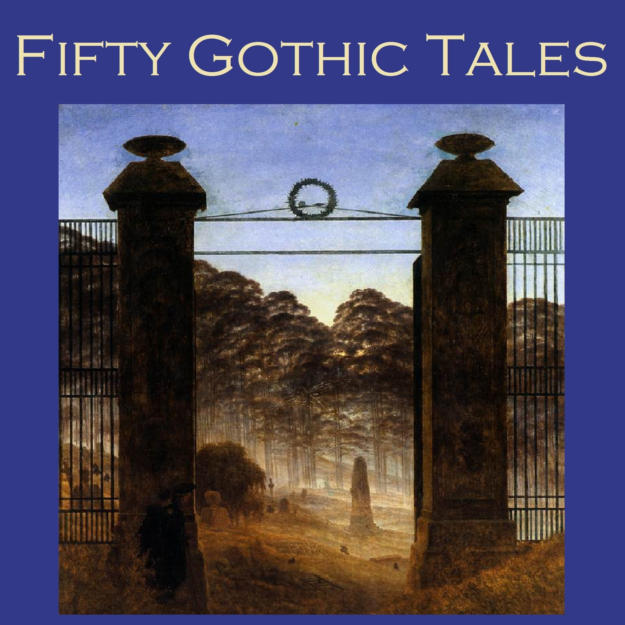 Printable Fifty Gothic Tales Audiobook Cover Art