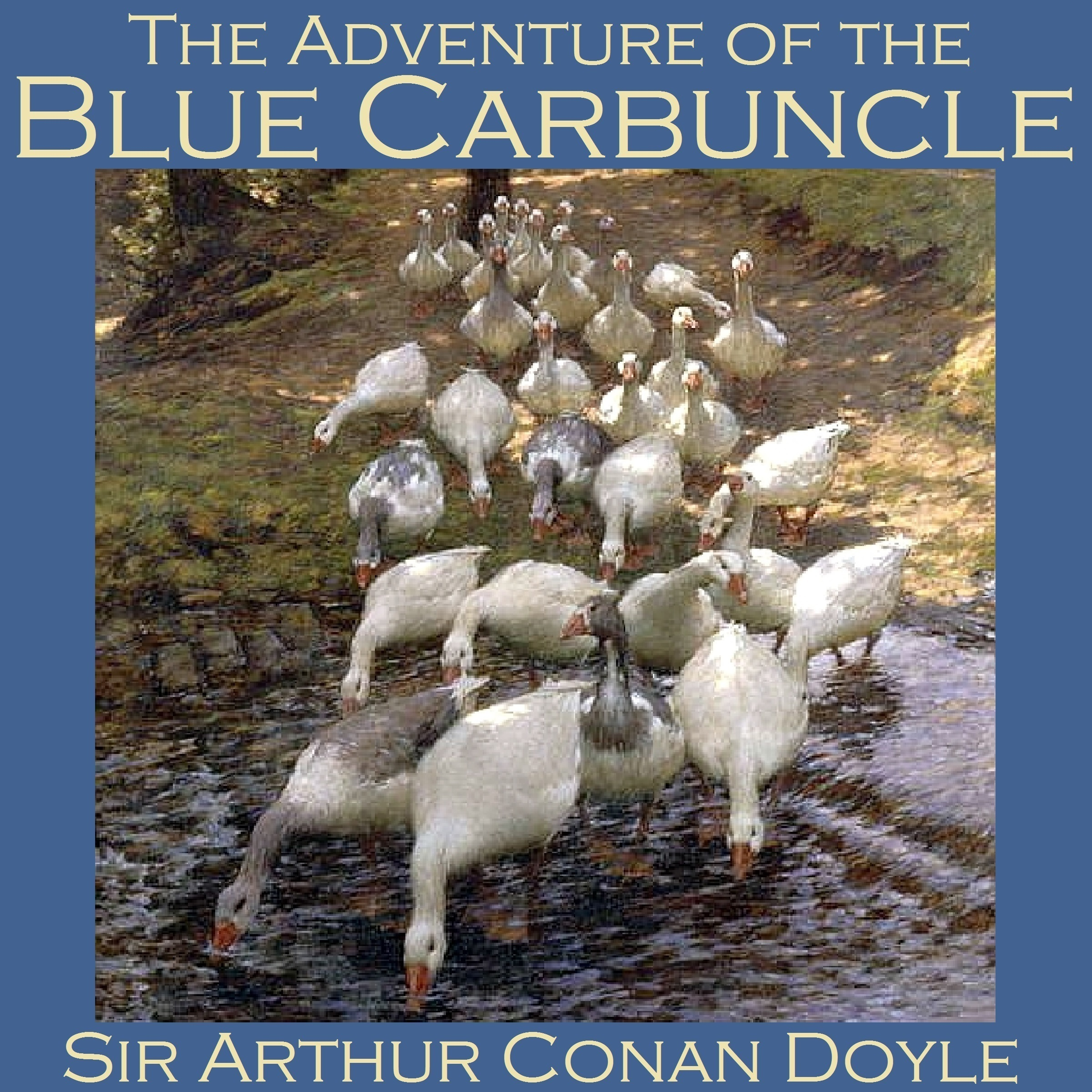 Printable The Adventure of the Blue Carbuncle: A Sherlock Holmes Mystery Audiobook Cover Art