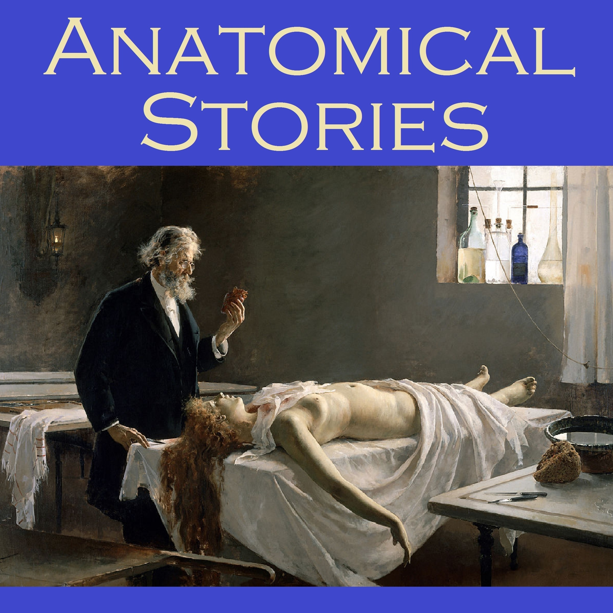 Printable Anatomical Stories Audiobook Cover Art