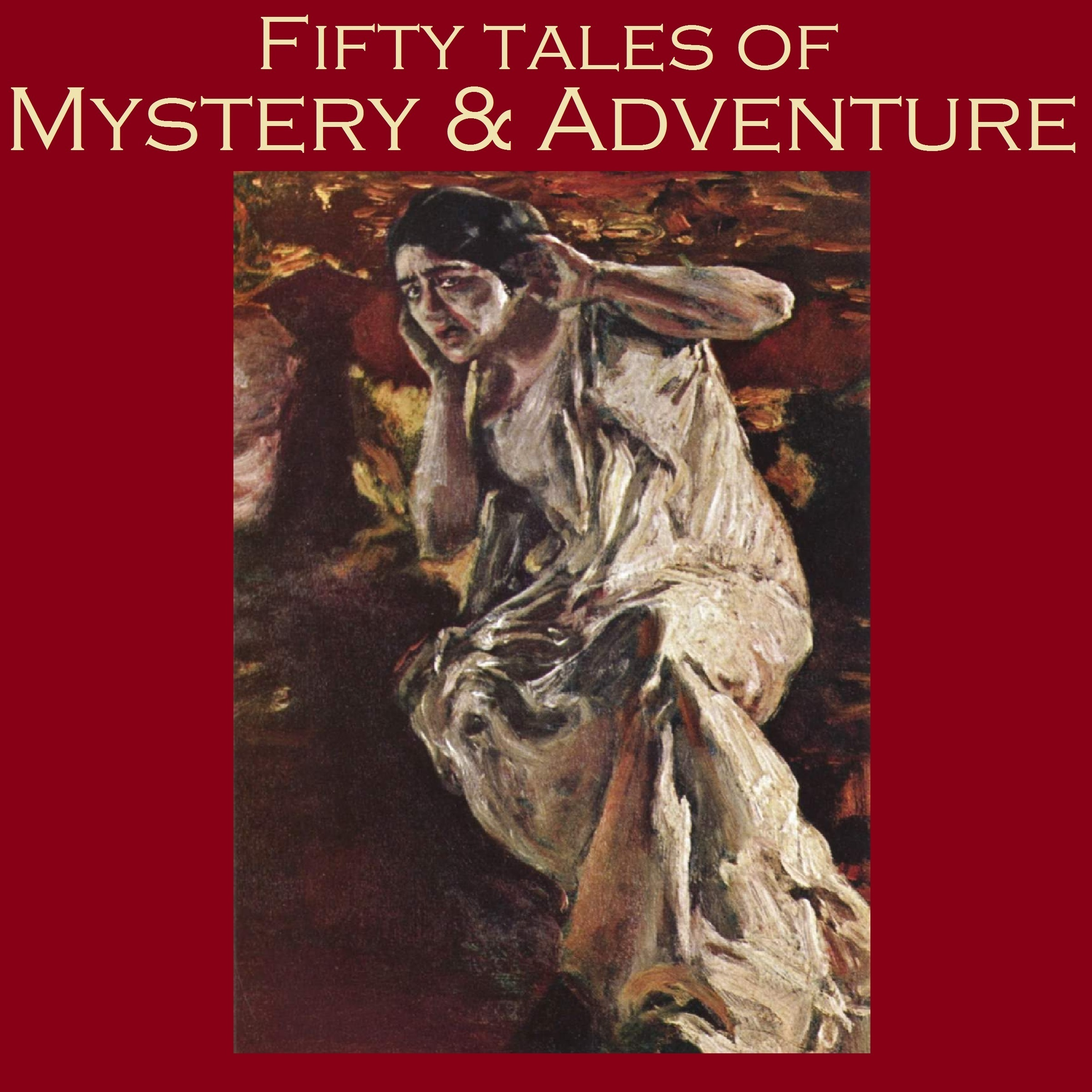 Printable Fifty Tales of Mystery and Adventure Audiobook Cover Art