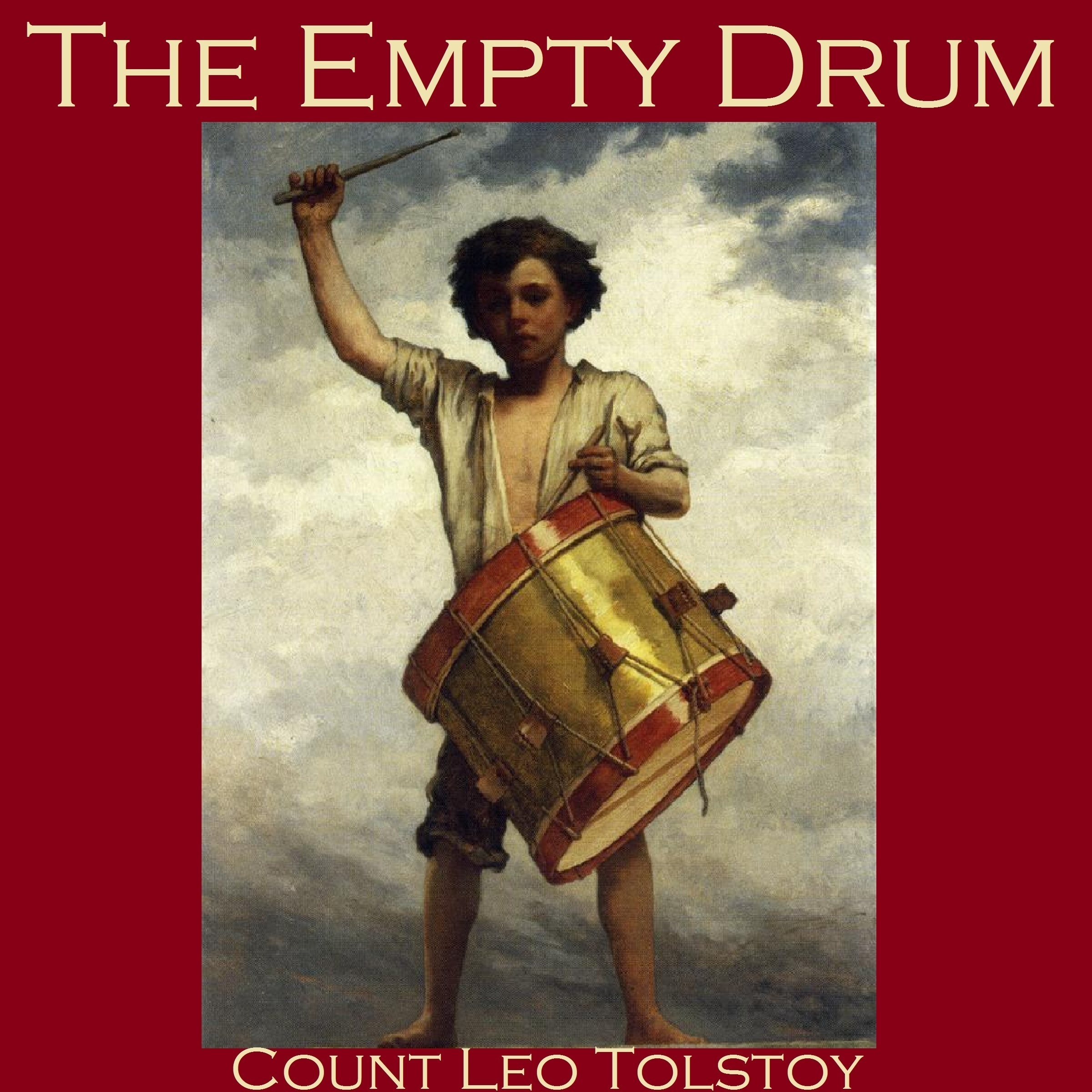 Printable The Empty Drum Audiobook Cover Art