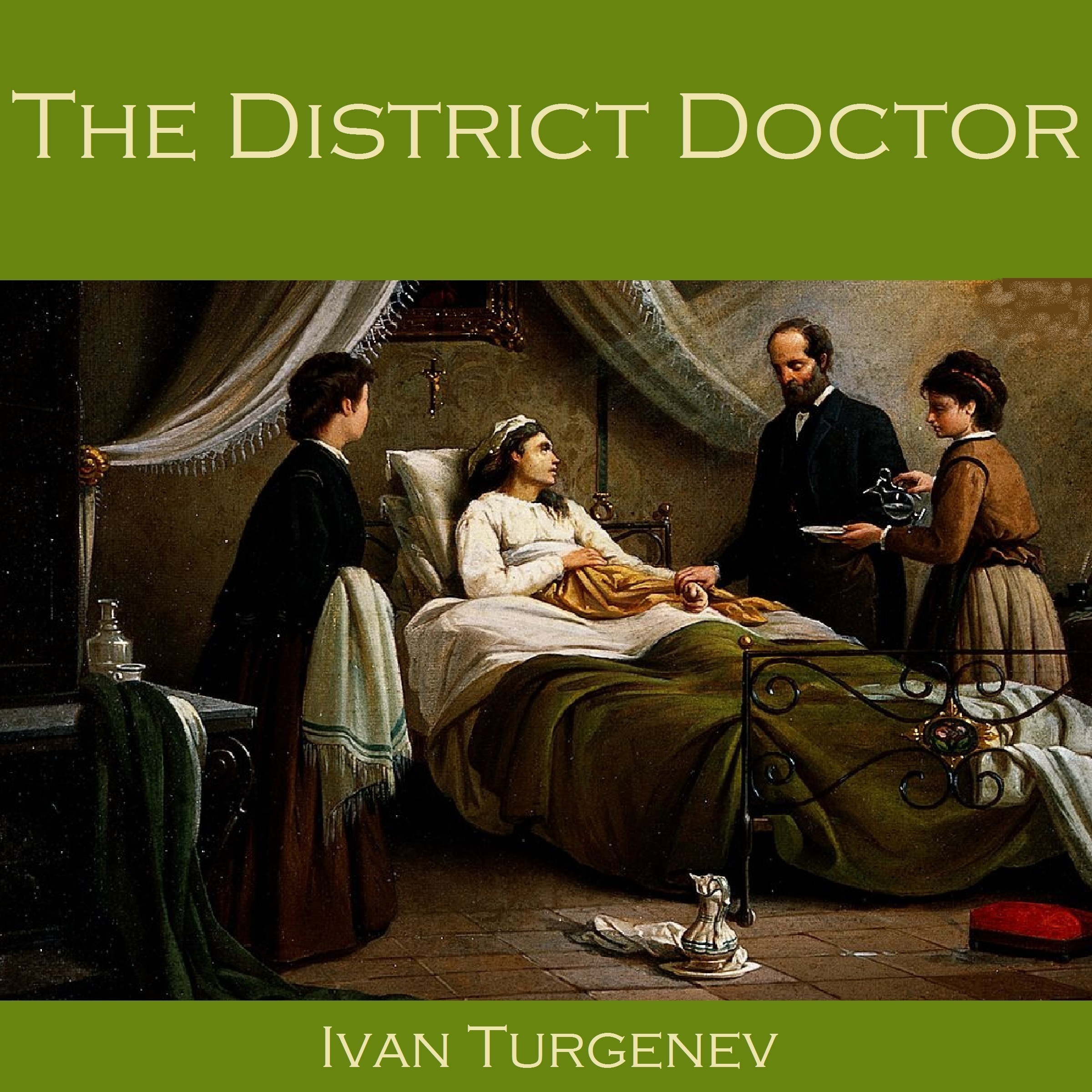 Printable The District Doctor Audiobook Cover Art