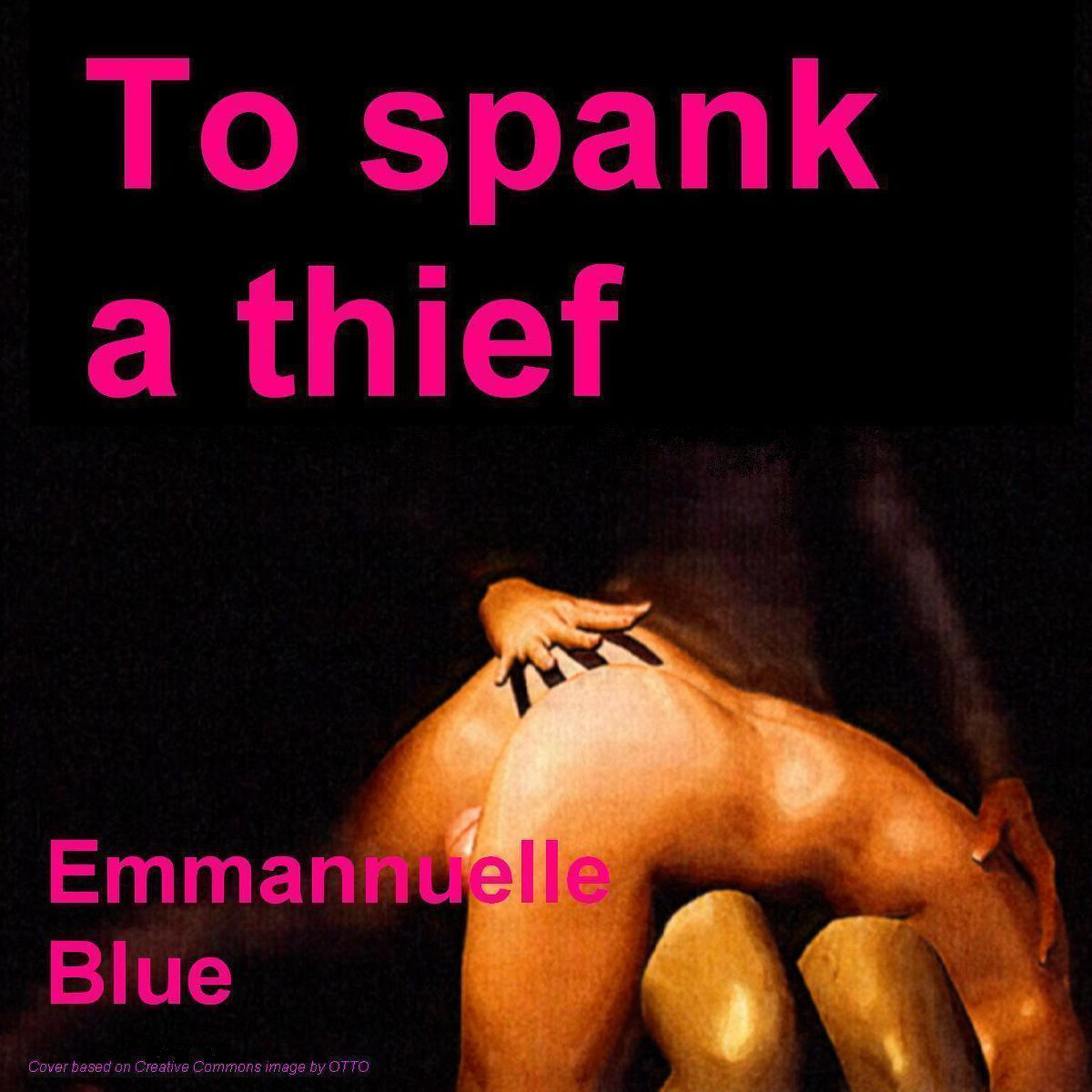 Printable To Spank a Thief Audiobook Cover Art