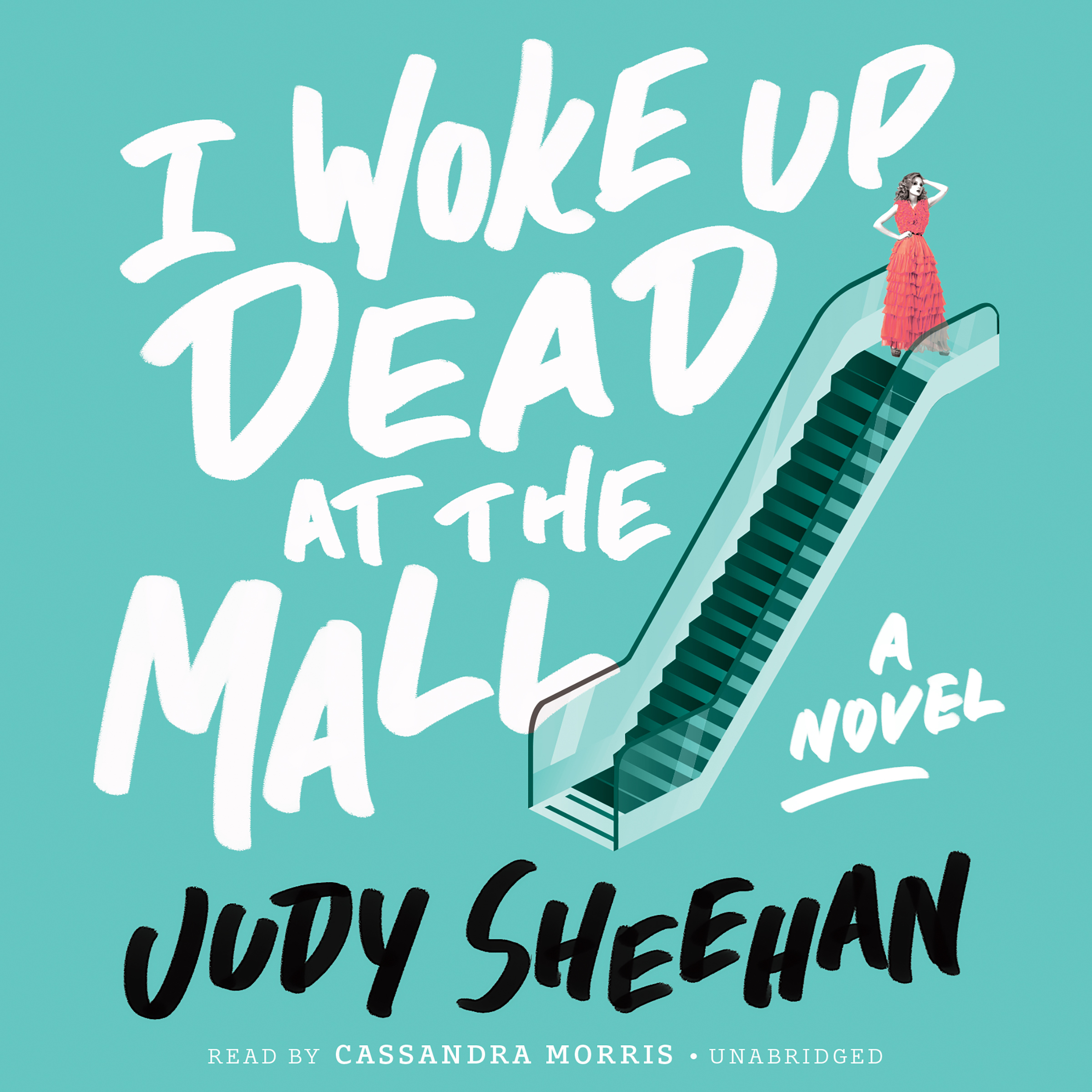 Printable I Woke Up Dead at the Mall Audiobook Cover Art