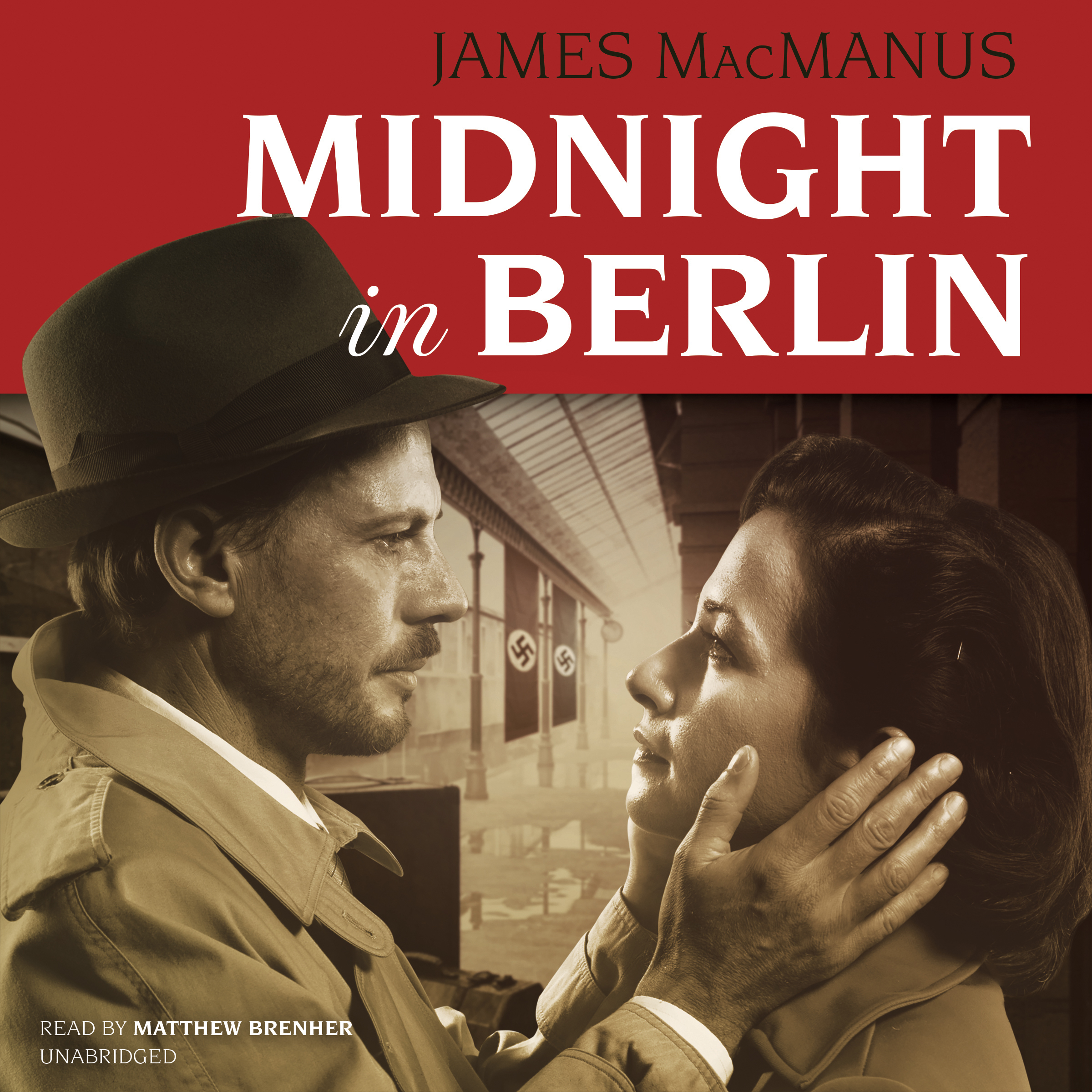 Printable Midnight in Berlin Audiobook Cover Art