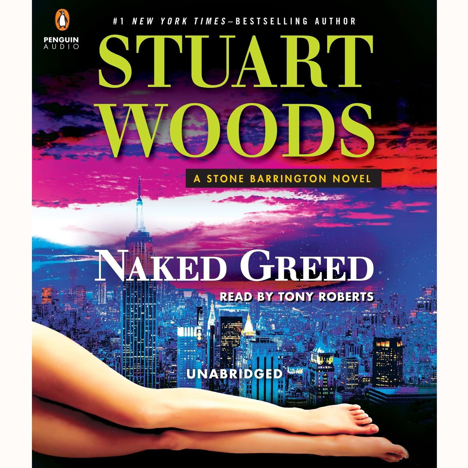 Printable Naked Greed Audiobook Cover Art