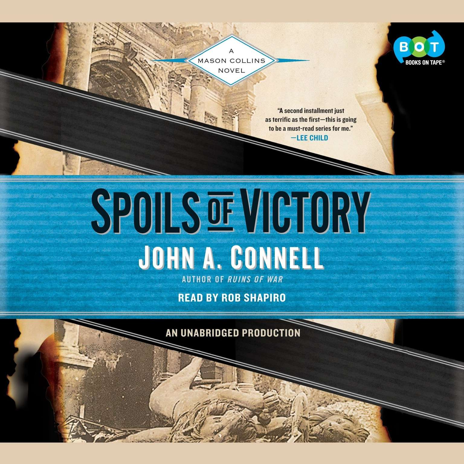 Printable Spoils of Victory: A Mason Collins Novel Audiobook Cover Art