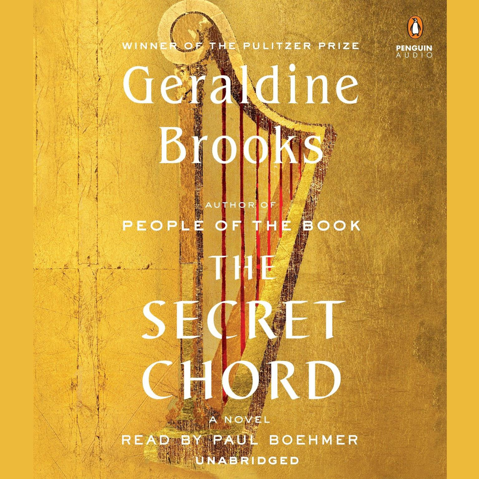 Printable The Secret Chord: A Novel Audiobook Cover Art