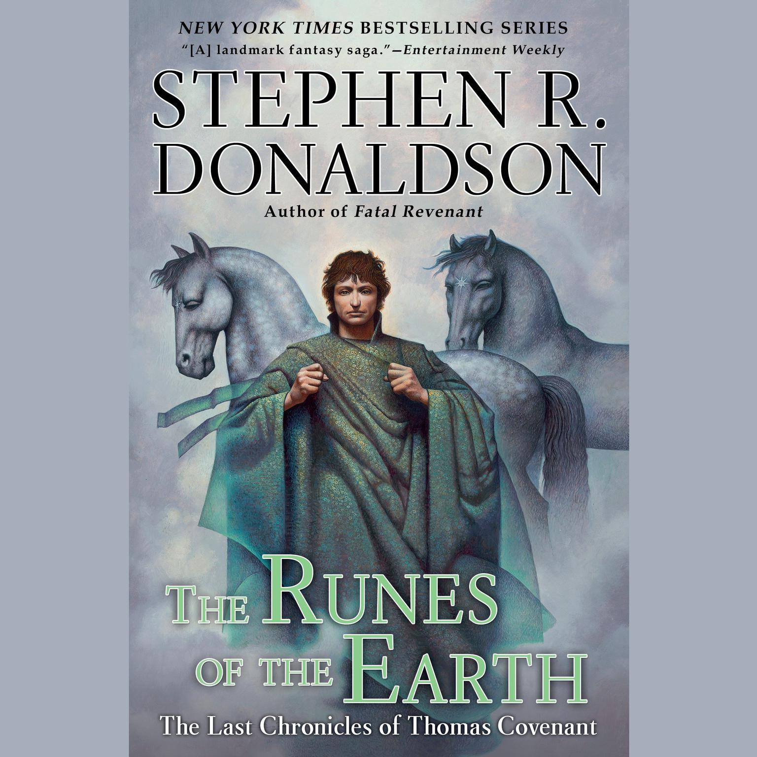 Printable The Runes of the Earth: The Last Chronicles of Thomas Convenant Audiobook Cover Art