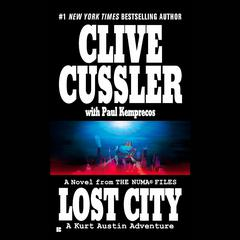 Lost City Audiobook, by Clive Cussler, Paul Kemprecos