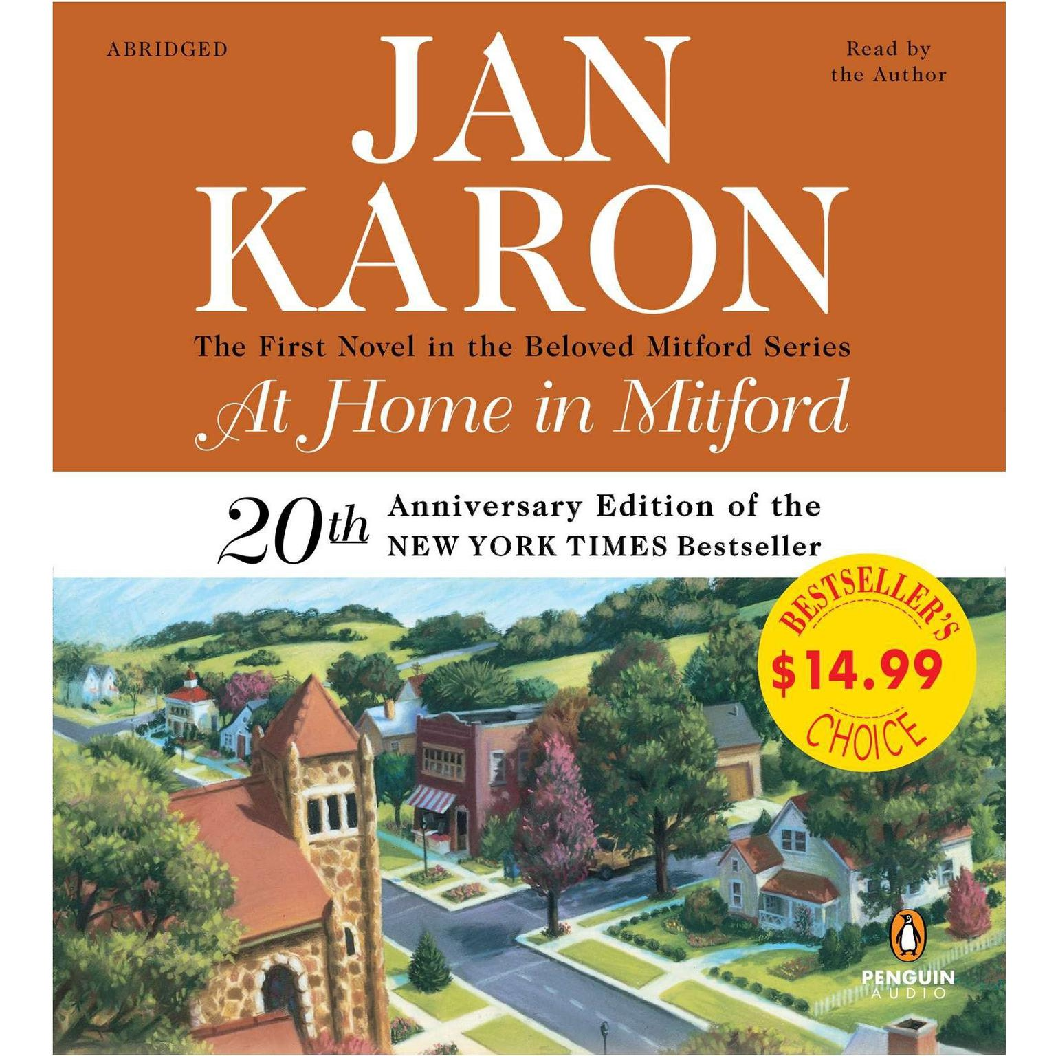 At Home in Mitford (Abridged): A Novel Audiobook, by Jan Karon
