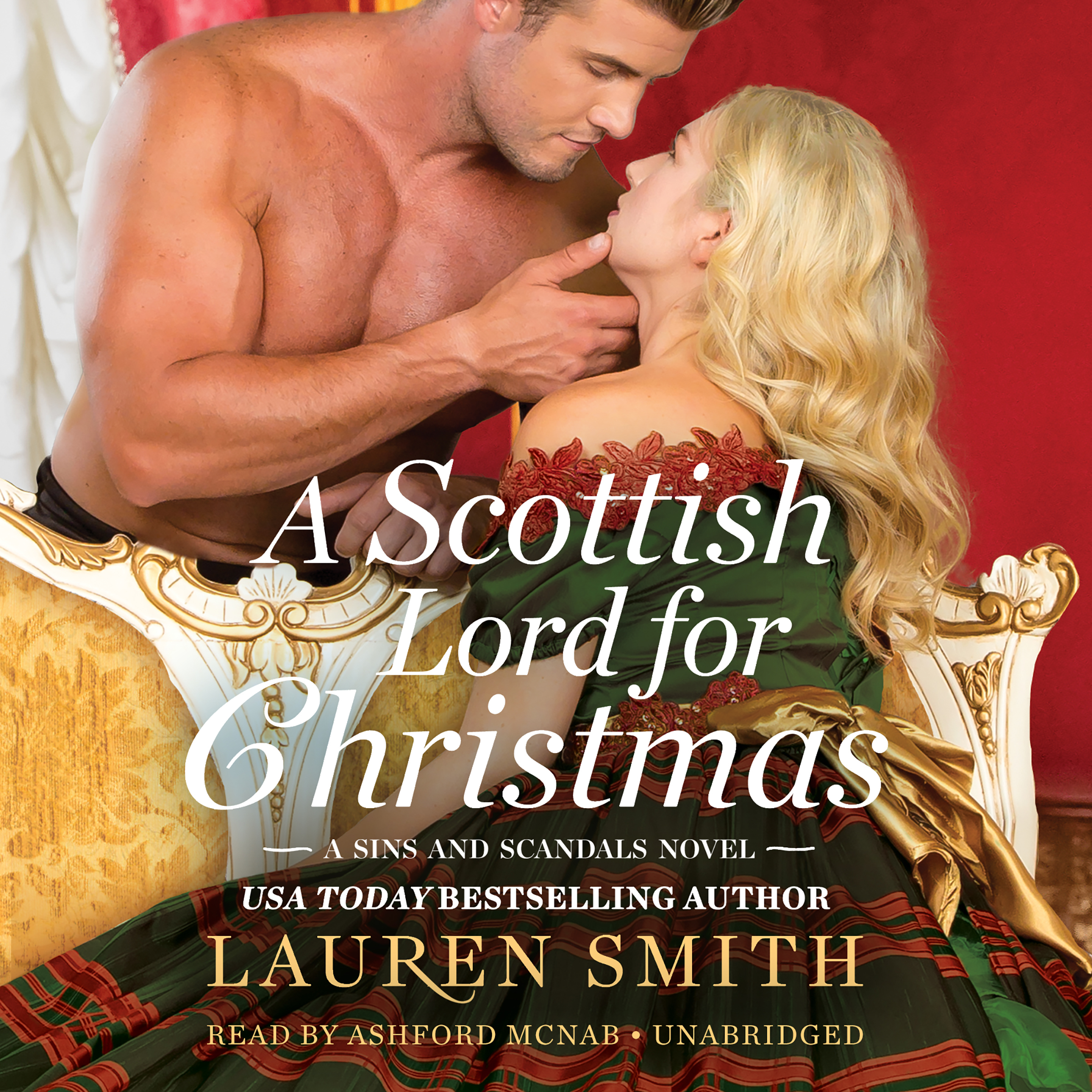 Printable A Scottish Lord for Christmas Audiobook Cover Art
