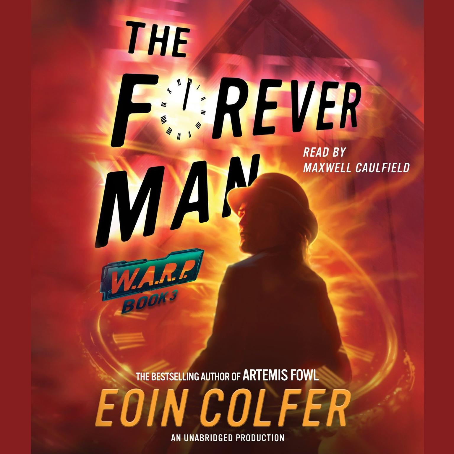 Printable  The Forever Man Audiobook Cover Art