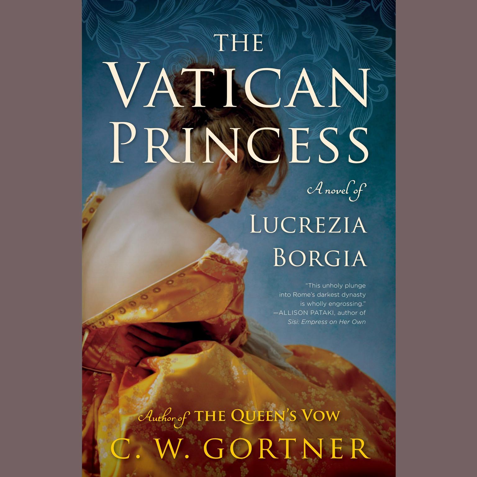 Printable The Vatican Princess: A Novel of Lucrezia Borgia Audiobook Cover Art
