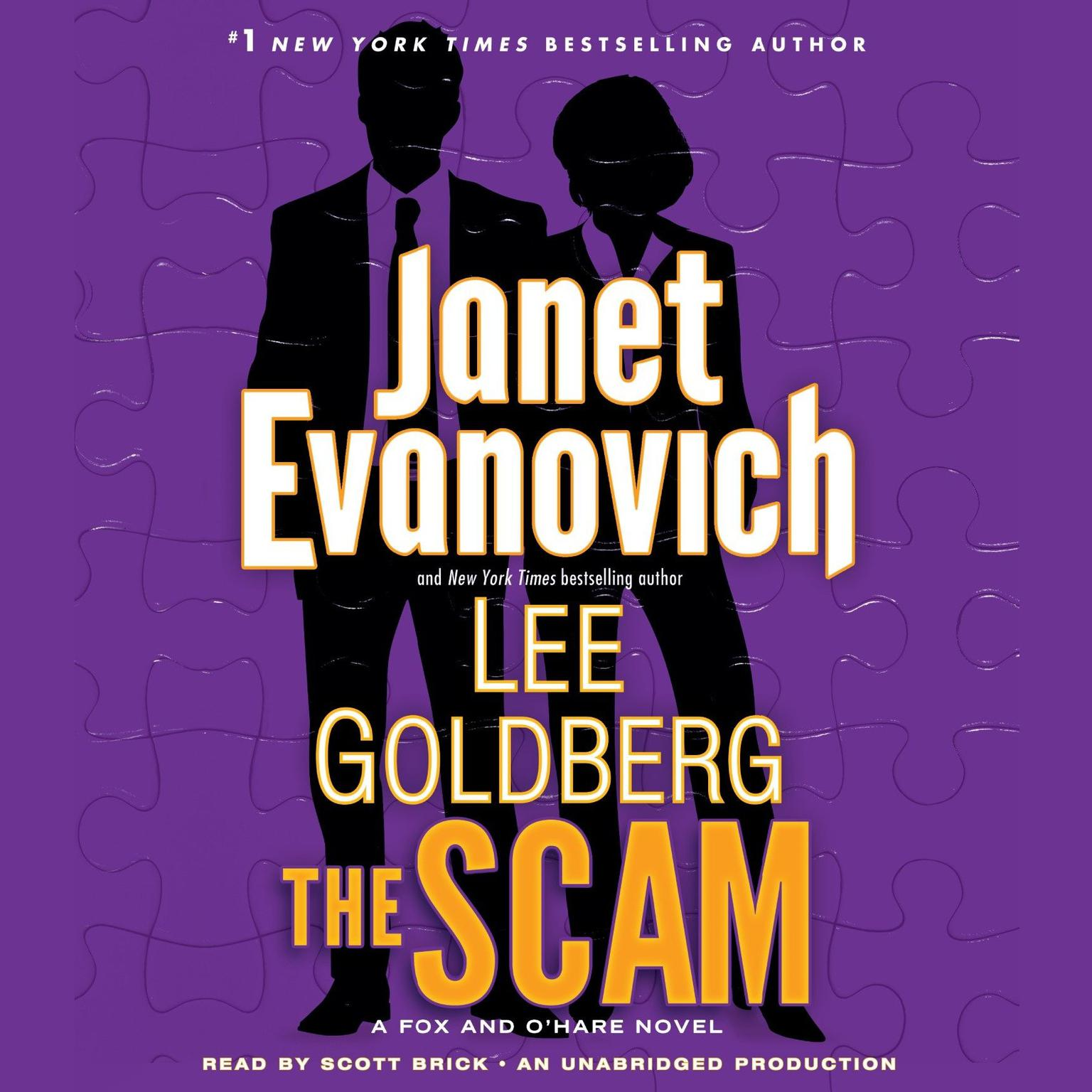 Printable The Scam: A Fox and O'Hare Novel Audiobook Cover Art