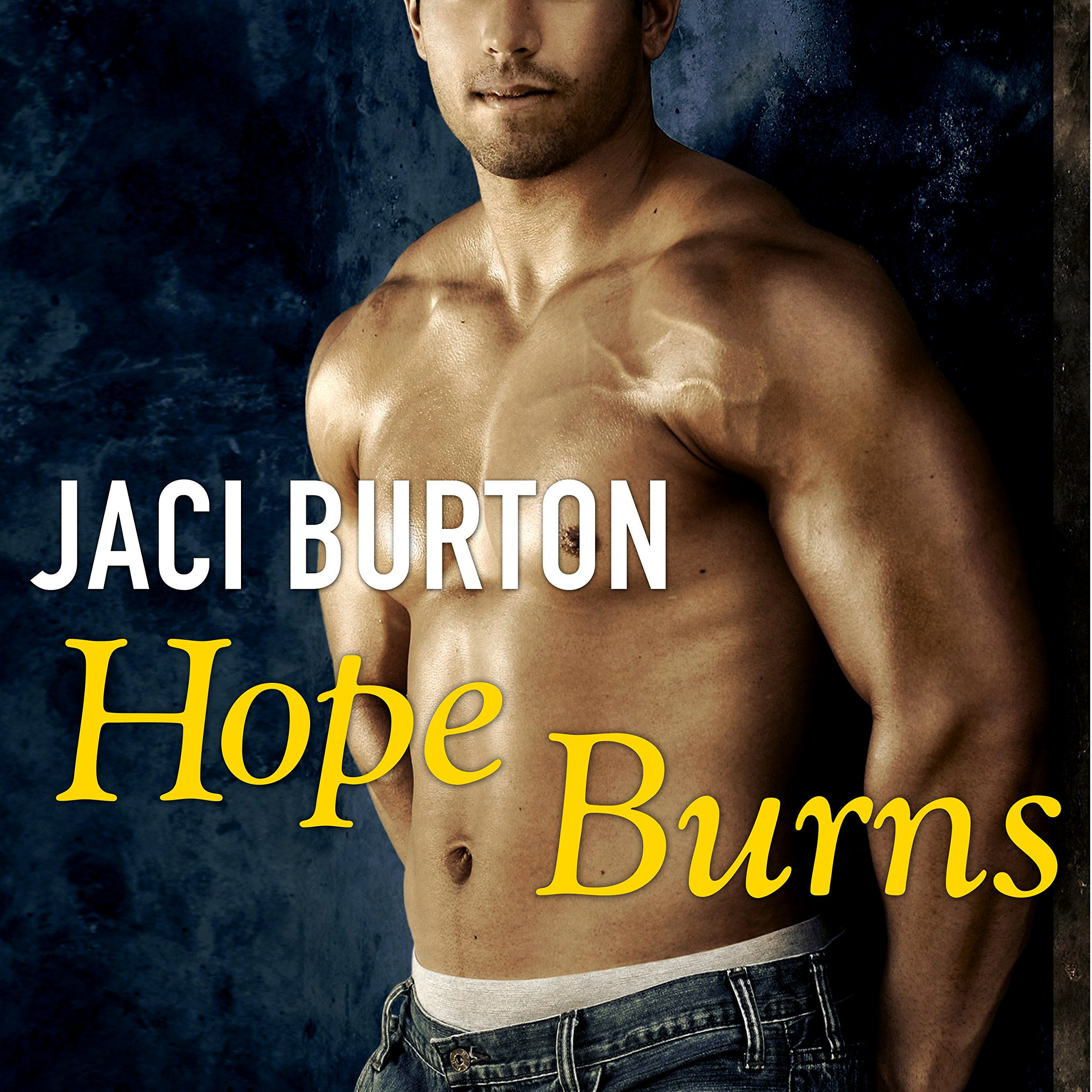 Printable Hope Burns Audiobook Cover Art