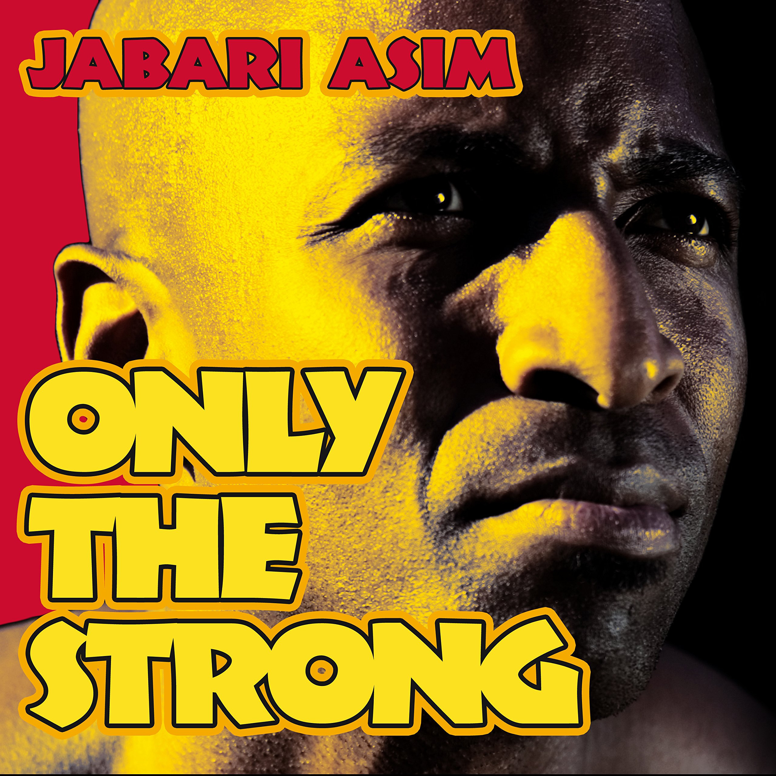 Printable Only the Strong Audiobook Cover Art