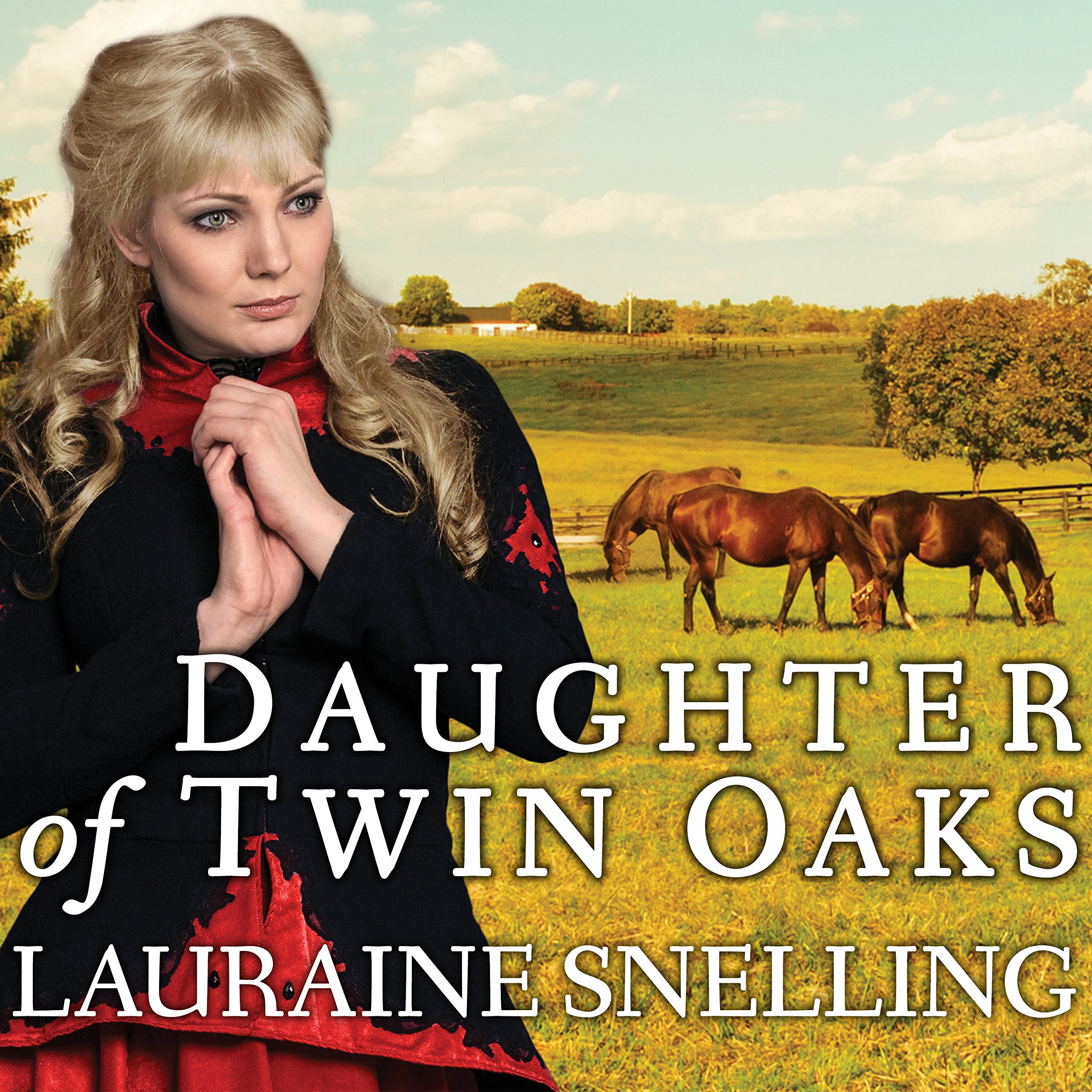 Printable Daughter of Twin Oaks Audiobook Cover Art
