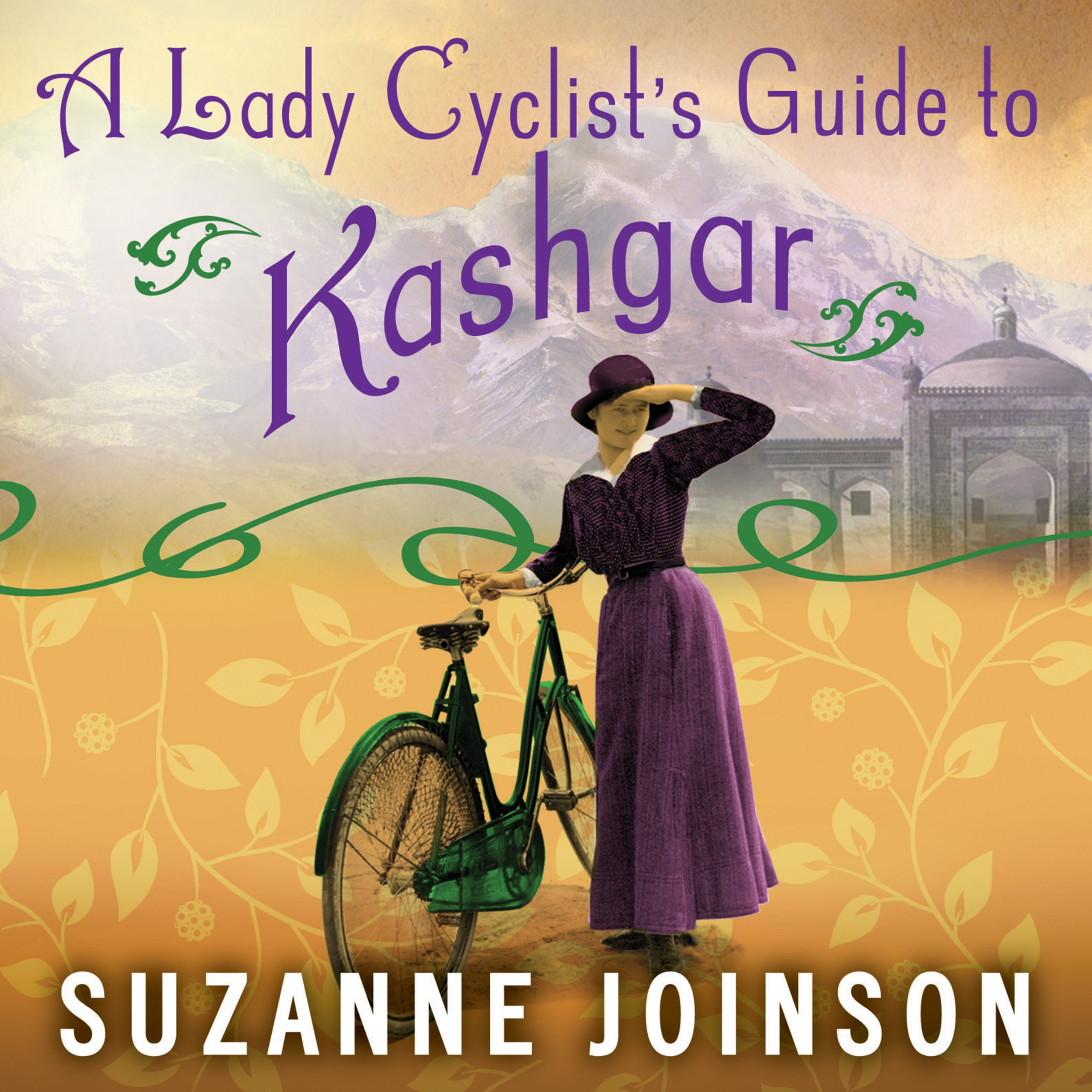 Printable A Lady Cyclist's Guide to Kashgar: A Novel Audiobook Cover Art