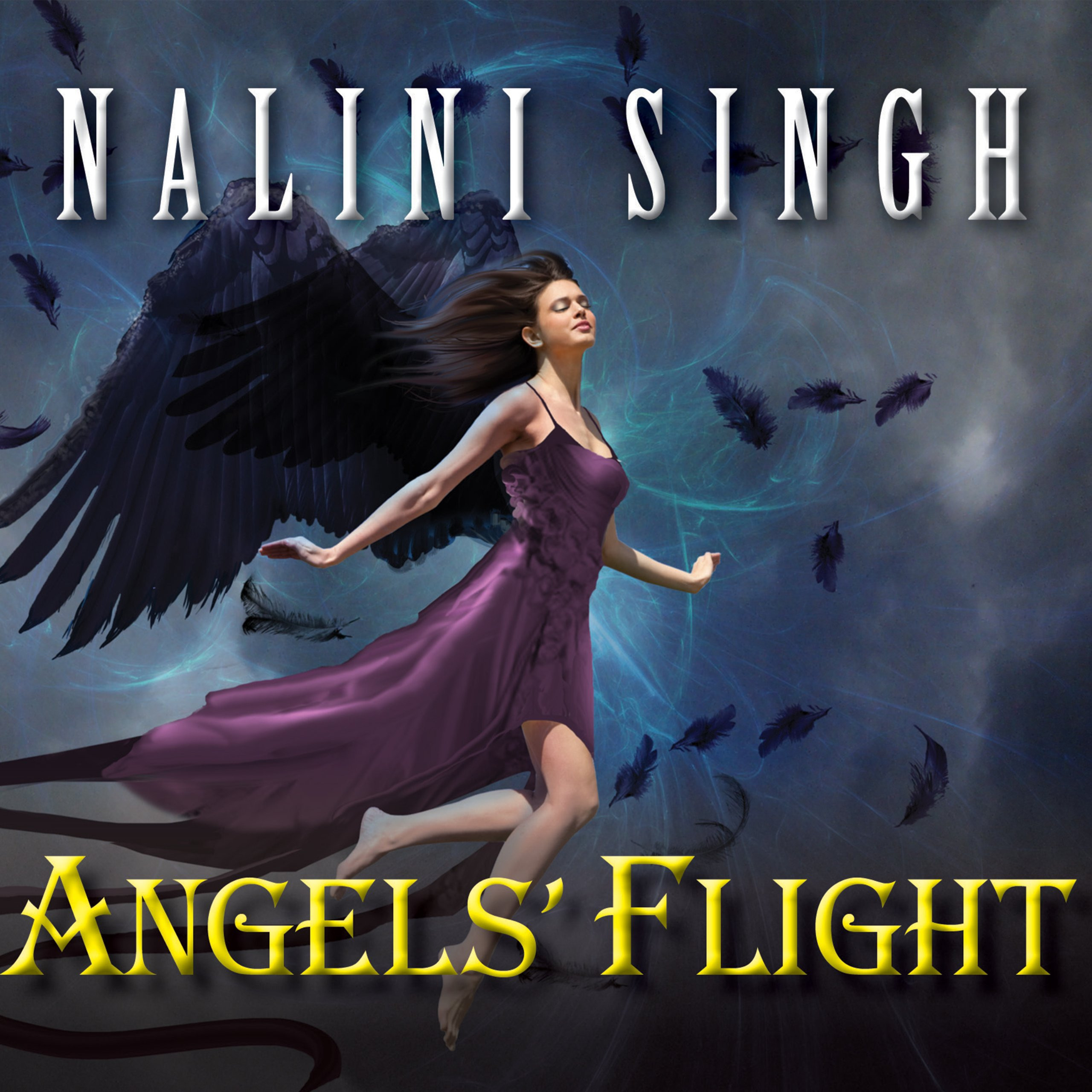 Printable Angels' Flight Audiobook Cover Art