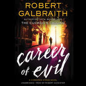 Career of Evil, by Robert Galbraith