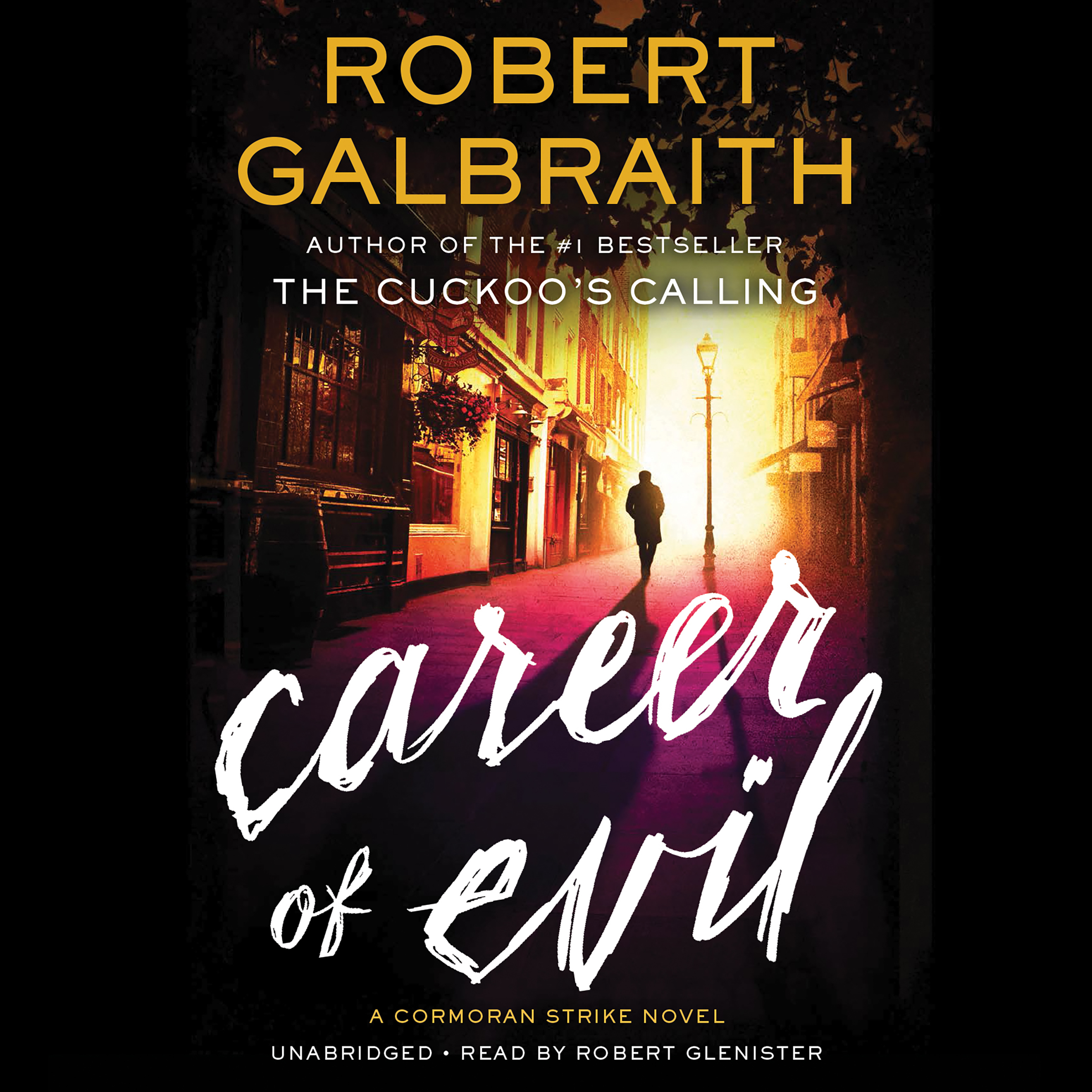 Printable Career of Evil Audiobook Cover Art