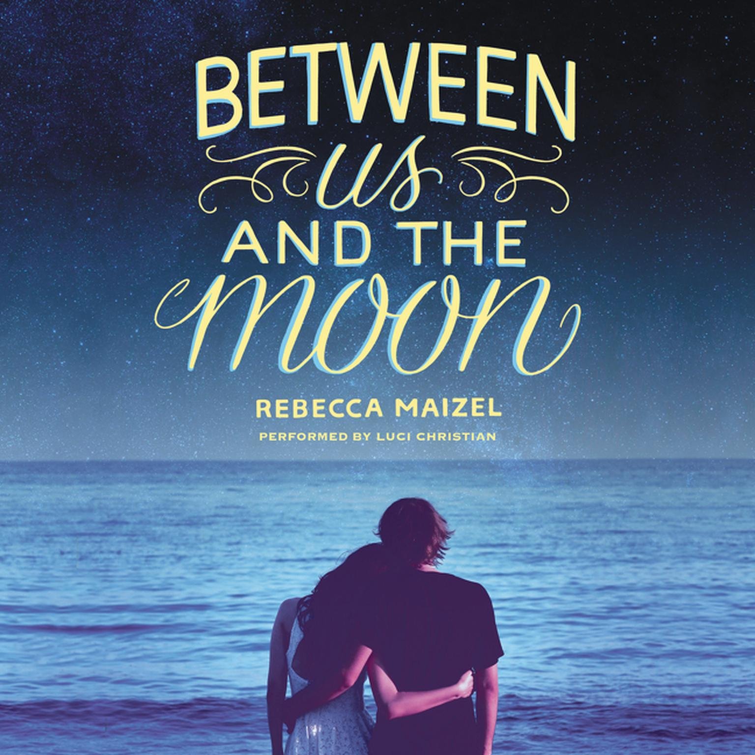 Printable Between Us and the Moon Audiobook Cover Art