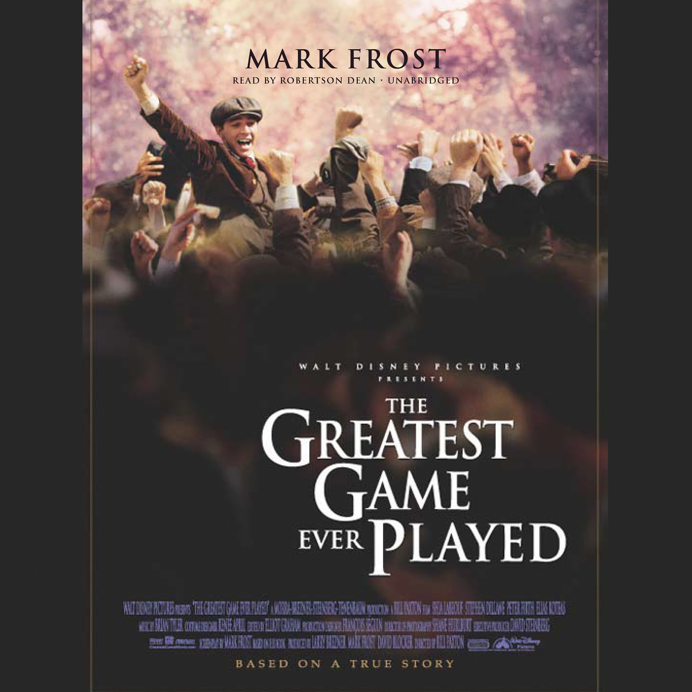 Printable The Greatest Game Ever Played: Harry Vardon, Francis Ouimet, and the Birth of Modern Golf Audiobook Cover Art