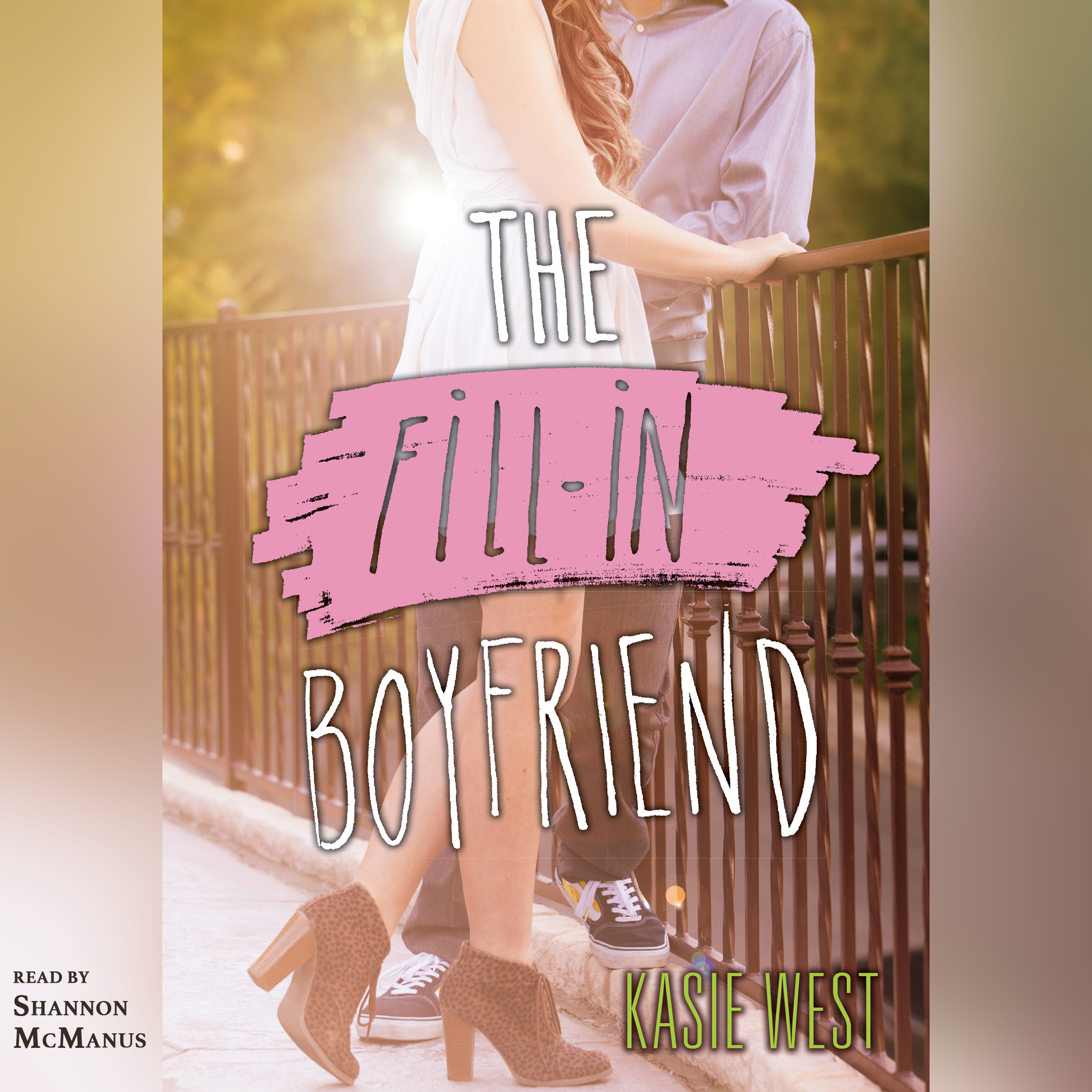 Printable The Fill-in Boyfriend Audiobook Cover Art