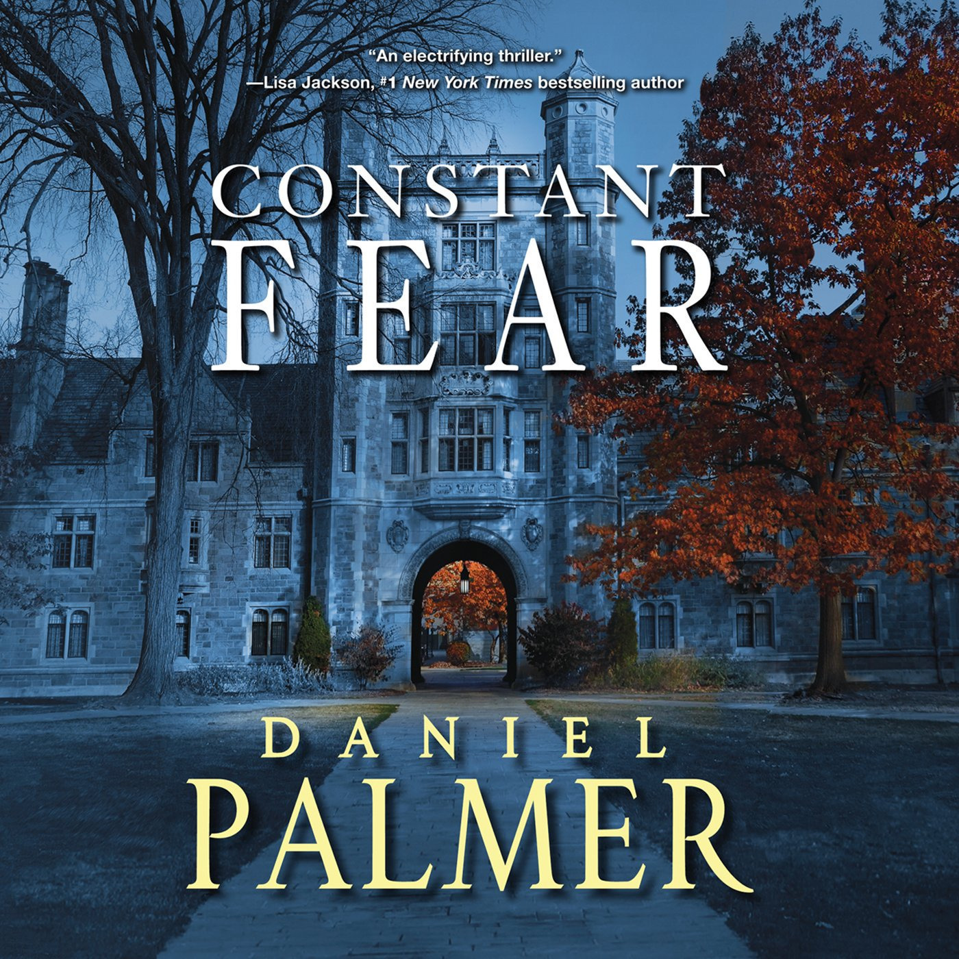 Printable Constant Fear Audiobook Cover Art