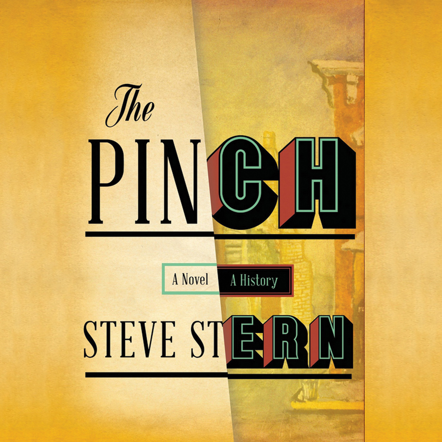 Printable The Pinch Audiobook Cover Art