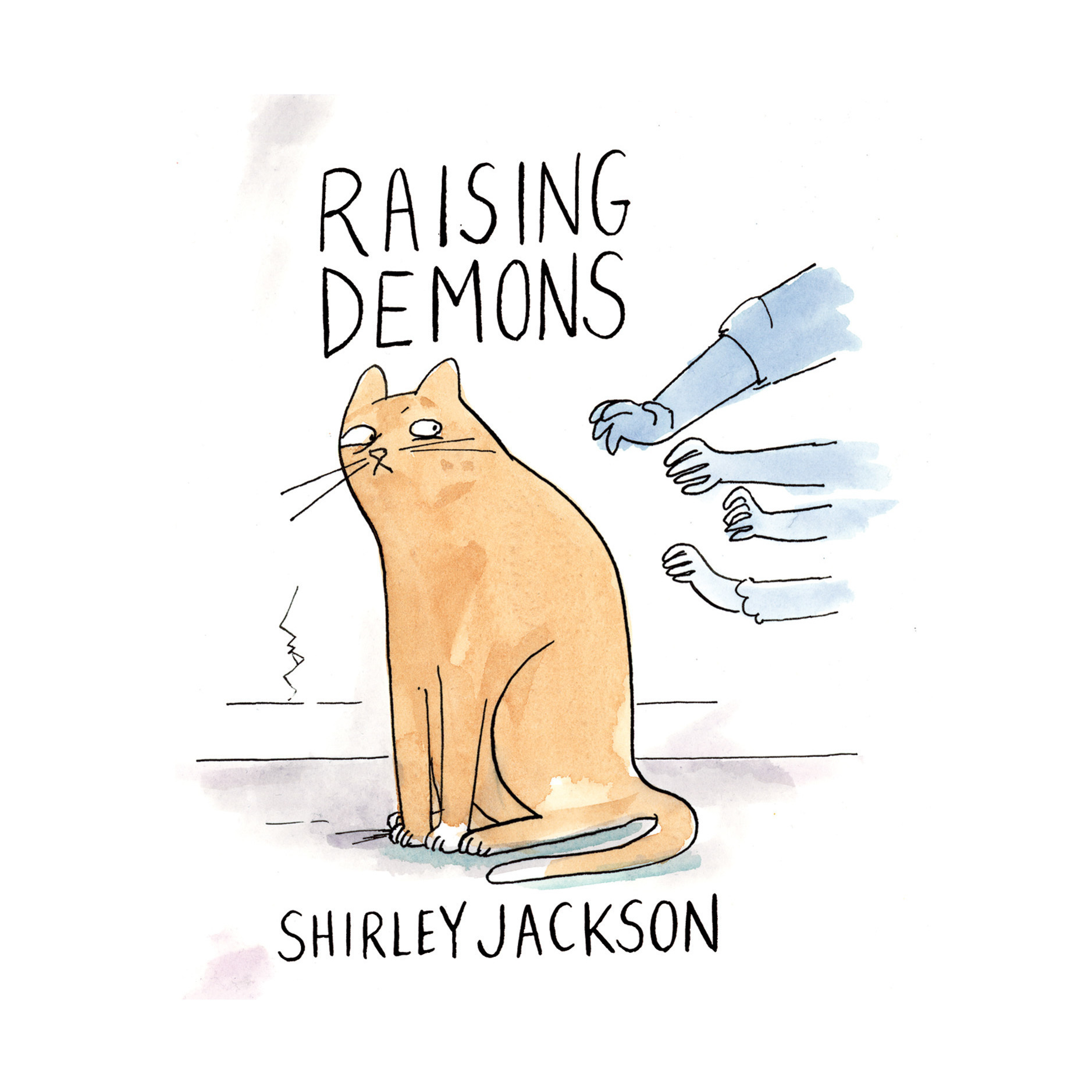 Printable Raising Demons Audiobook Cover Art
