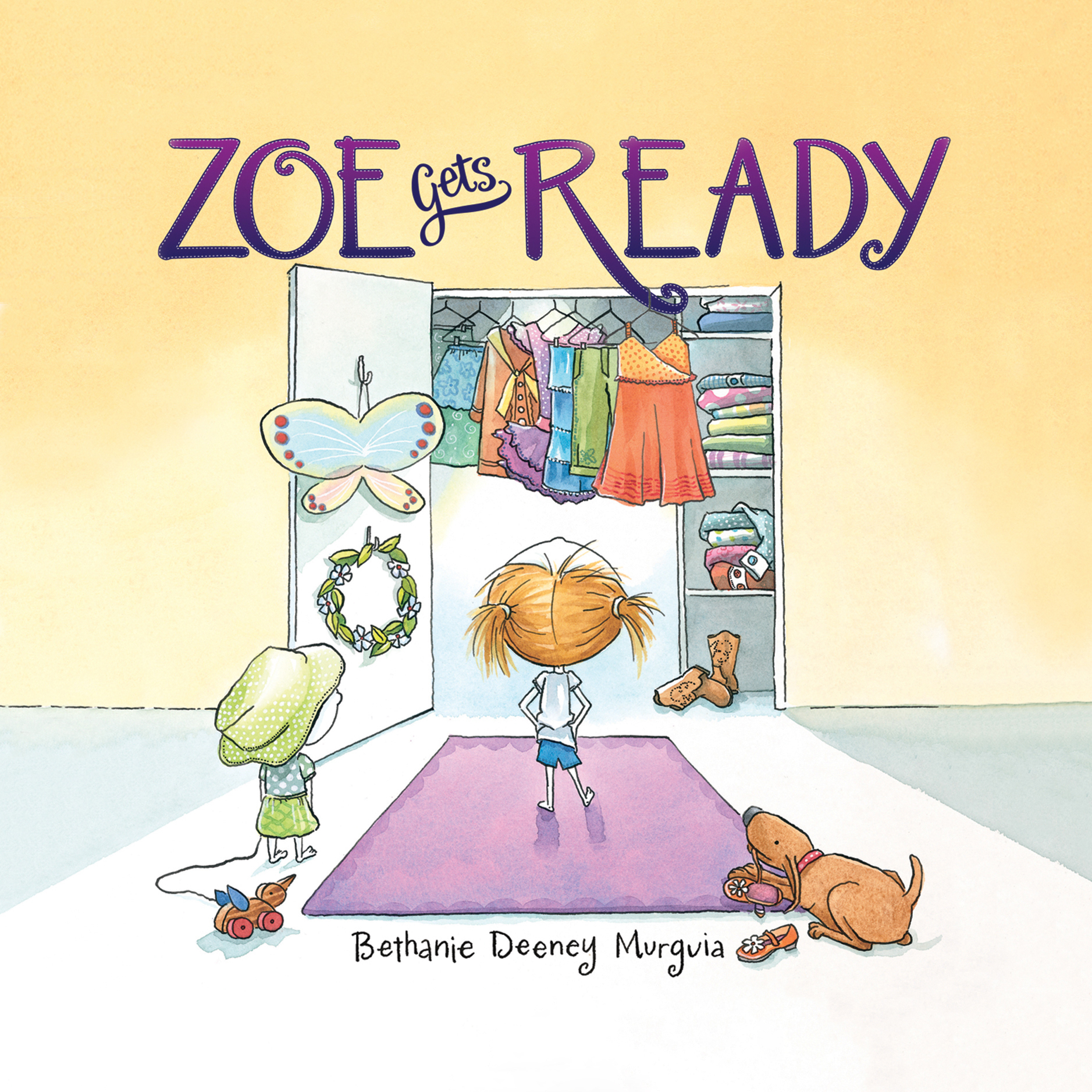 Printable Zoe Gets Ready Audiobook Cover Art