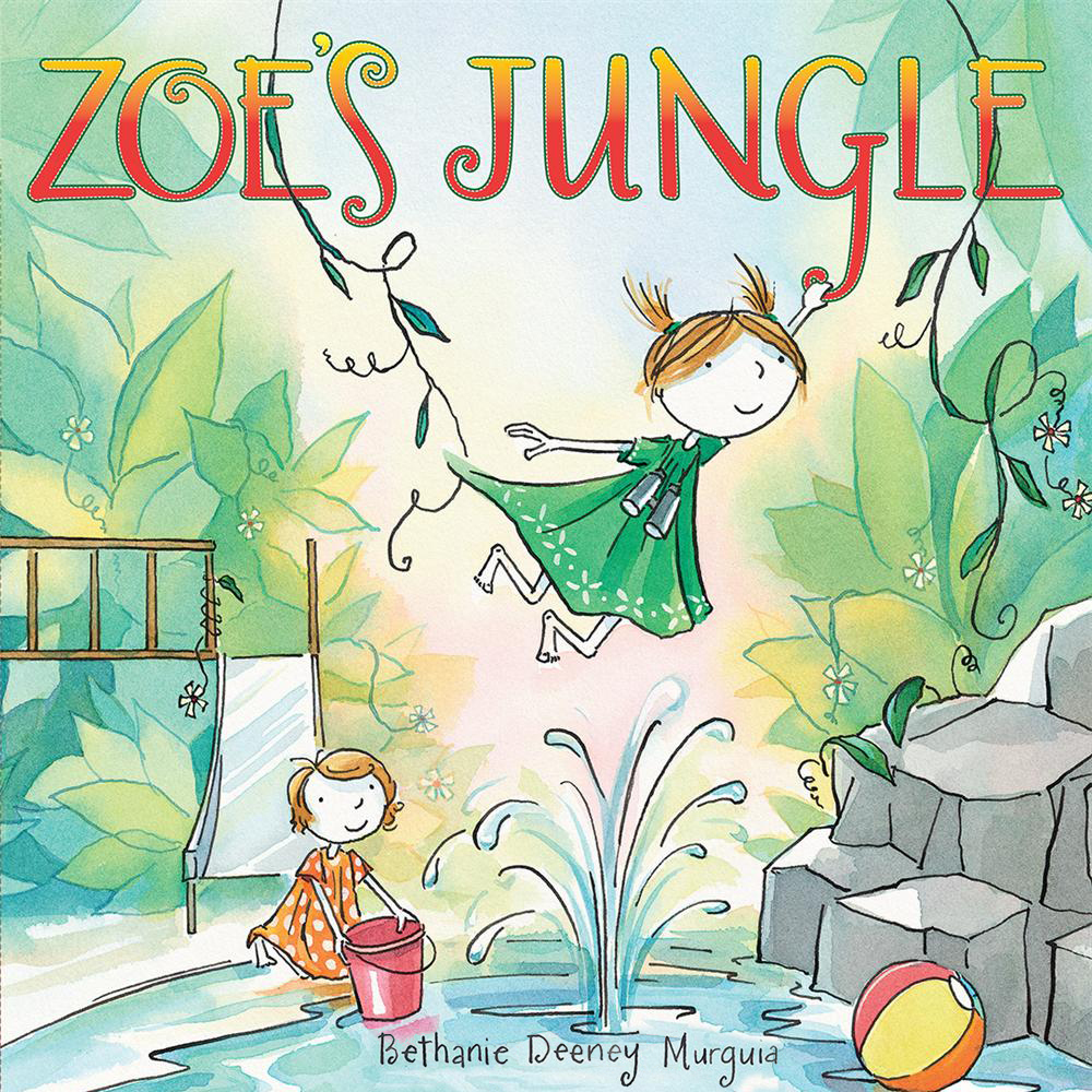 Printable Zoe's Jungle Audiobook Cover Art