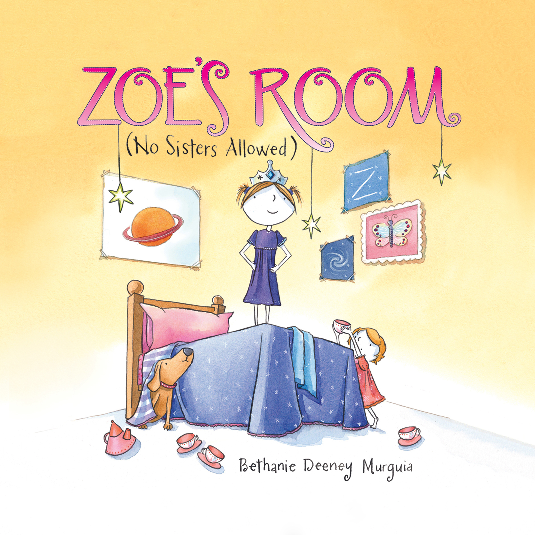 Printable Zoe's Room: (No Sisters Allowed) Audiobook Cover Art