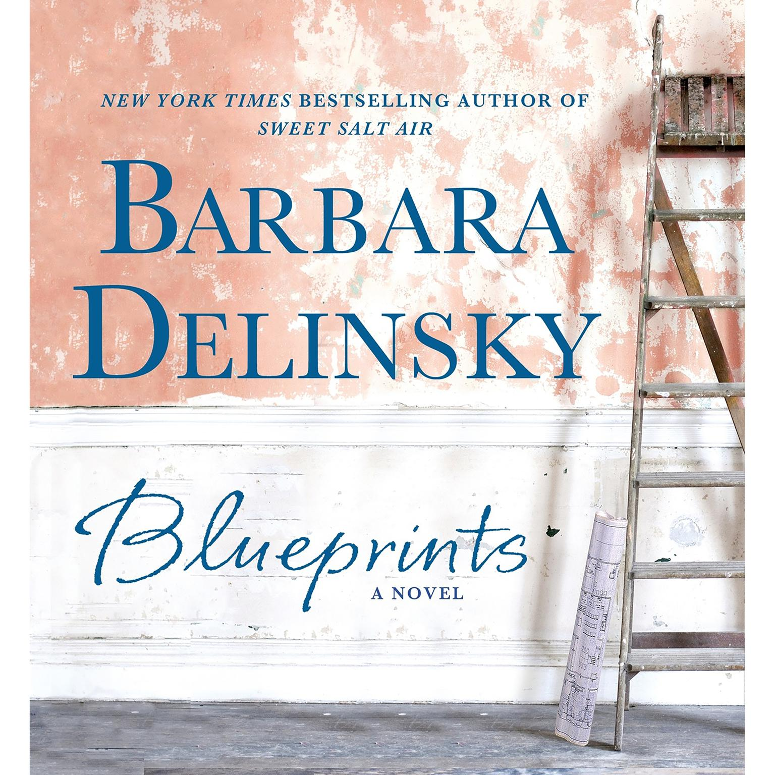 Printable Blueprints: A Novel Audiobook Cover Art