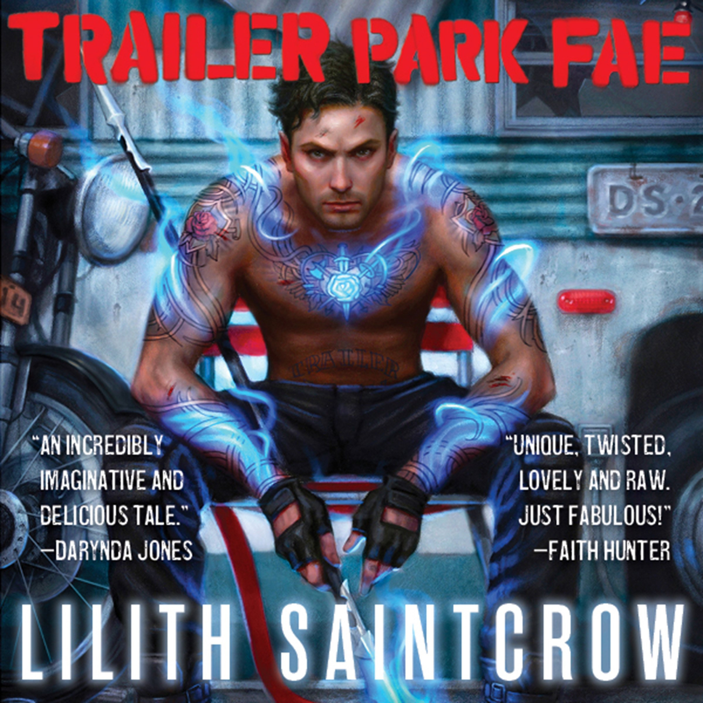 Printable Trailer Park Fae Audiobook Cover Art