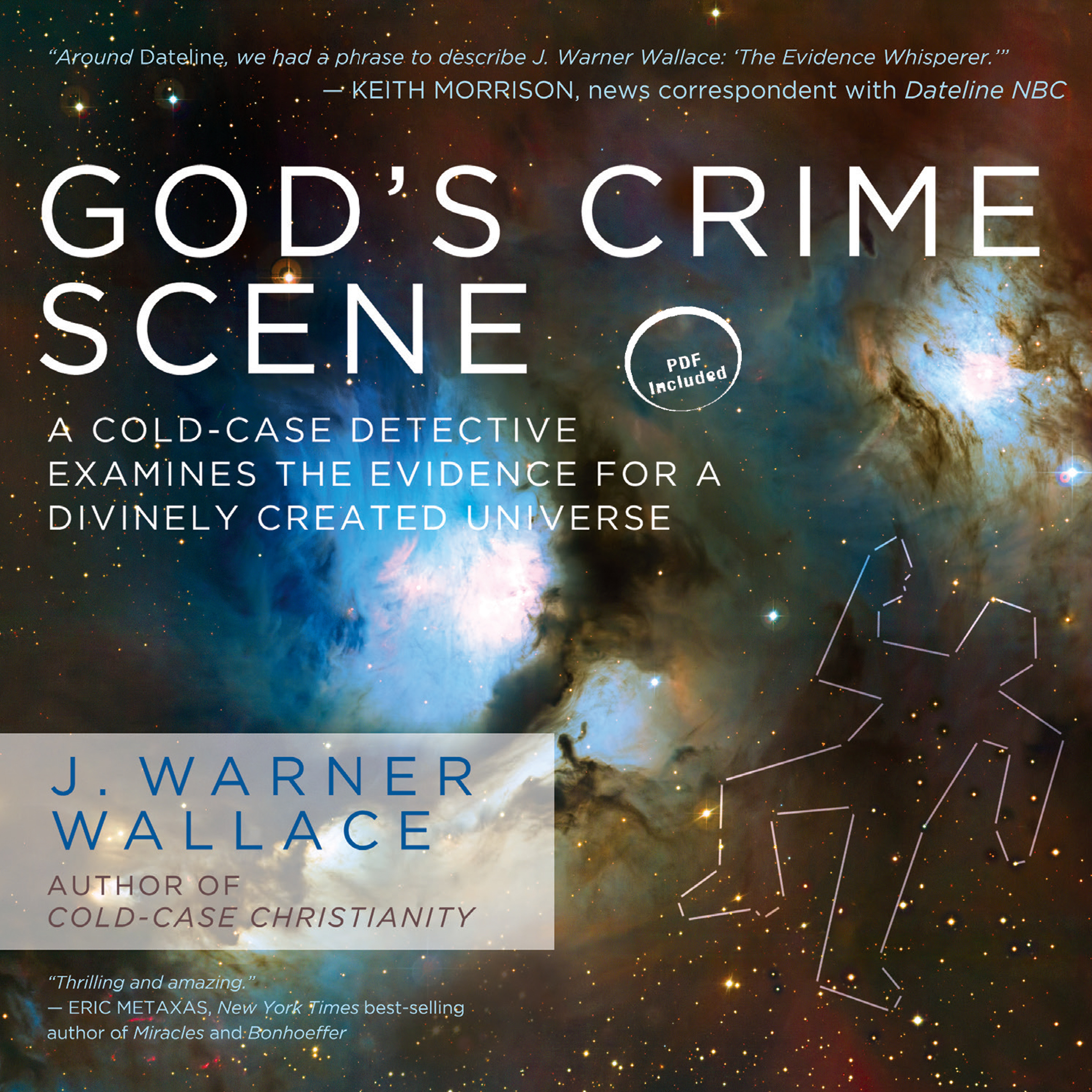 Printable God's Crime Scene: A Cold-Case Detective Examines the Evidence for a Divinely Created Universe Audiobook Cover Art
