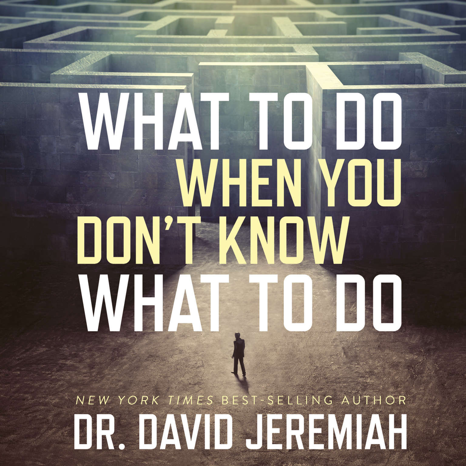 What to Do When You Dont Know What to Do Audiobook, by David Jeremiah