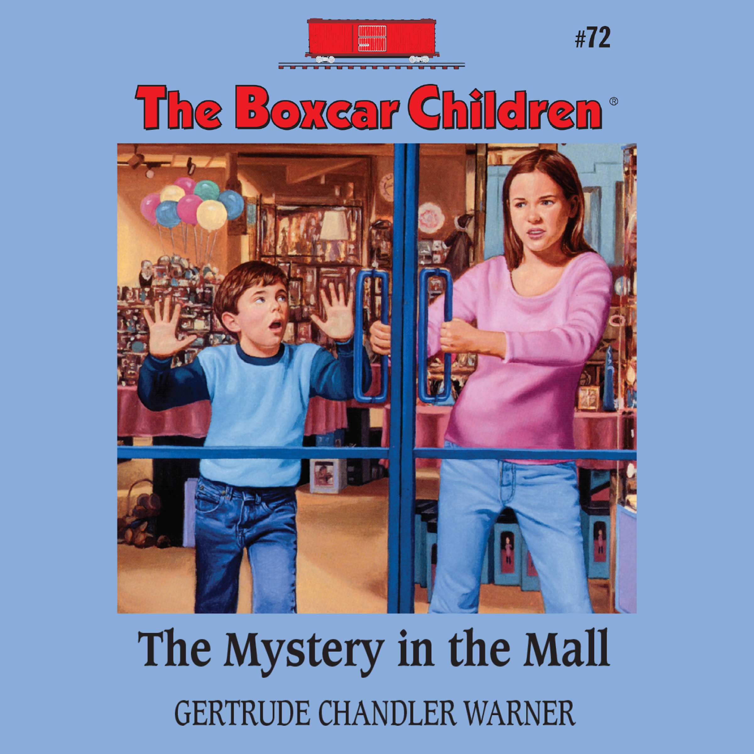 Printable The Mystery in the Mall Audiobook Cover Art