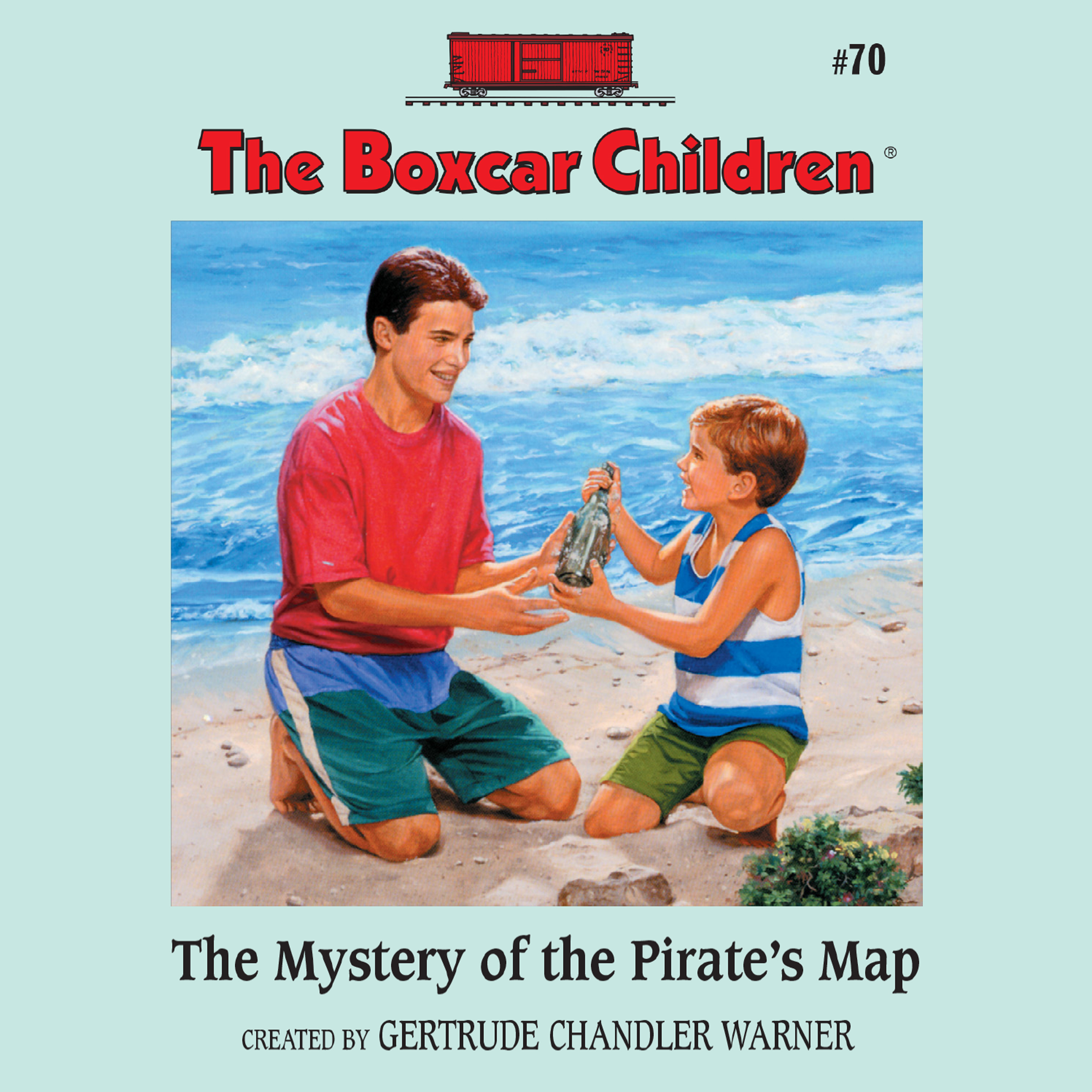 Printable The Mystery of the Pirate's Map Audiobook Cover Art