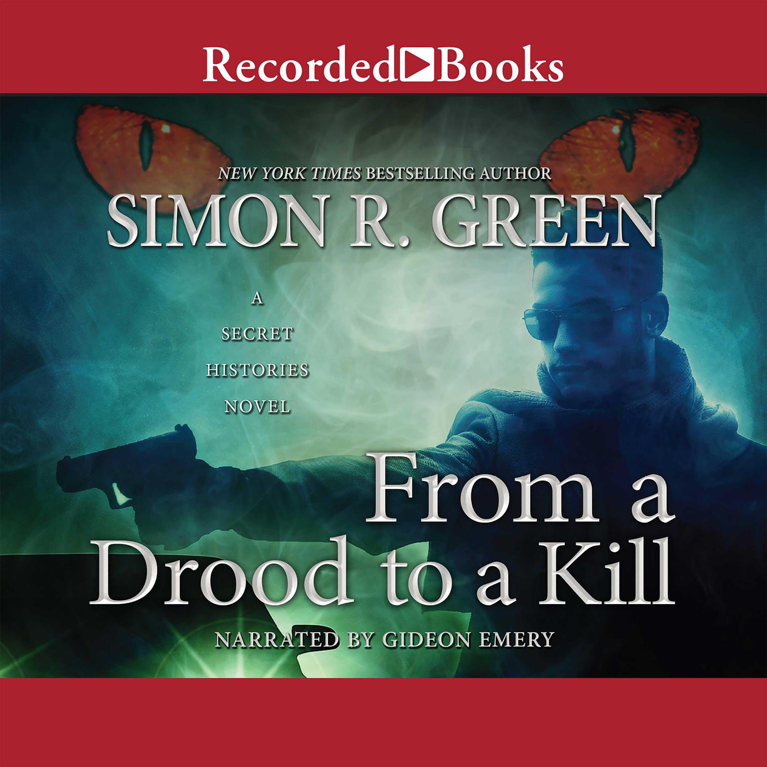 Printable From a Drood to a Kill Audiobook Cover Art