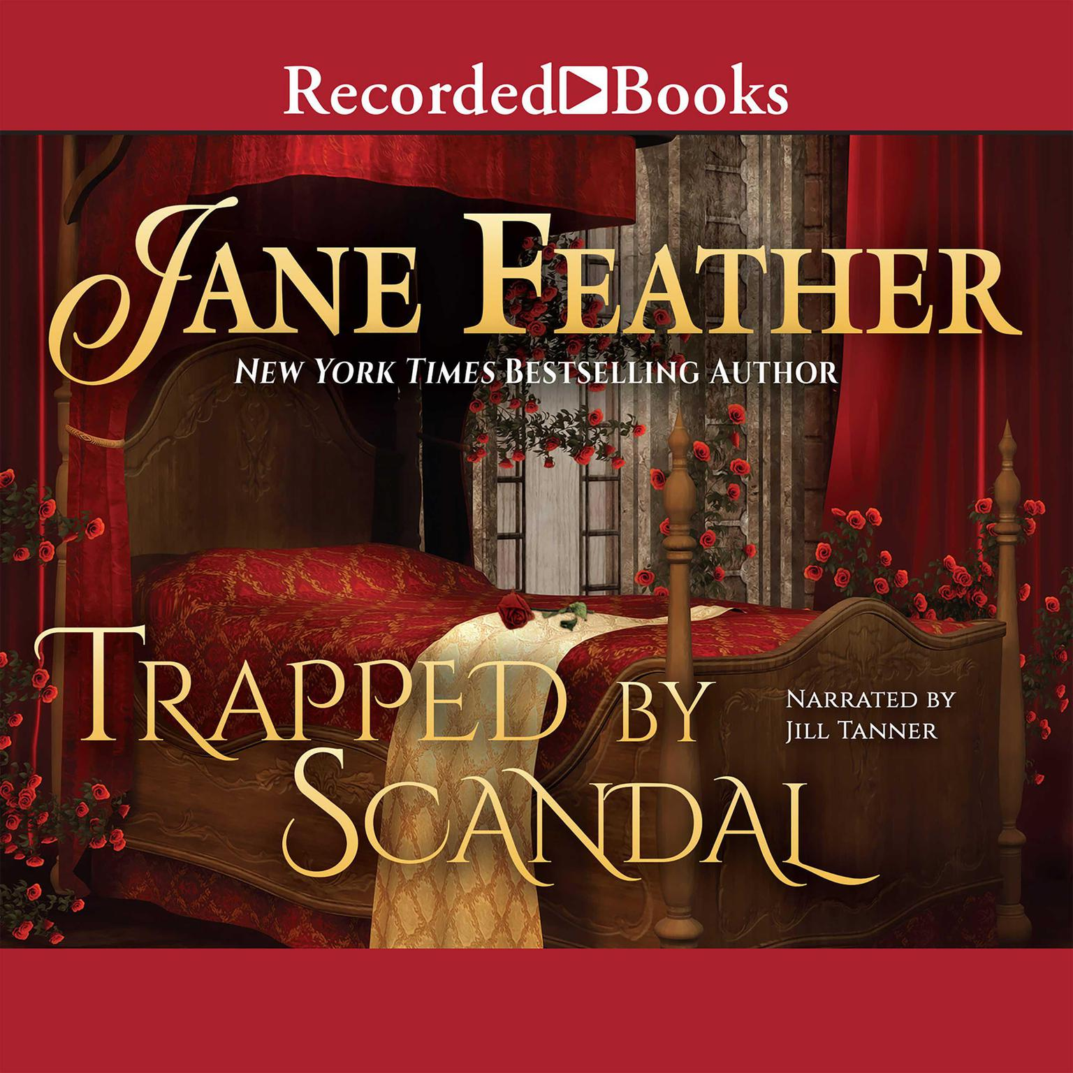 Printable Trapped by Scandal Audiobook Cover Art