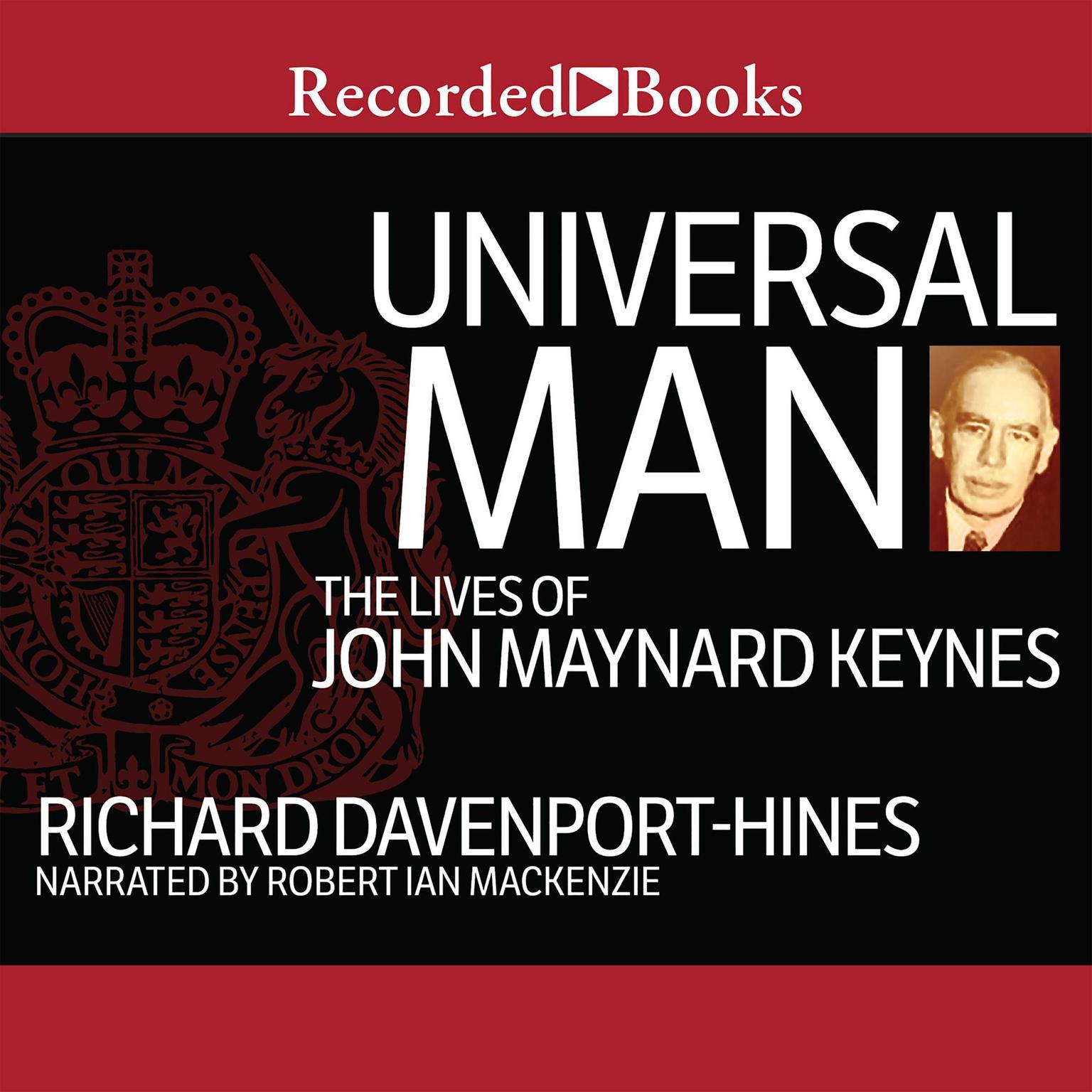 Printable Universal Man: The Lives of John Maynard Keynes Audiobook Cover Art