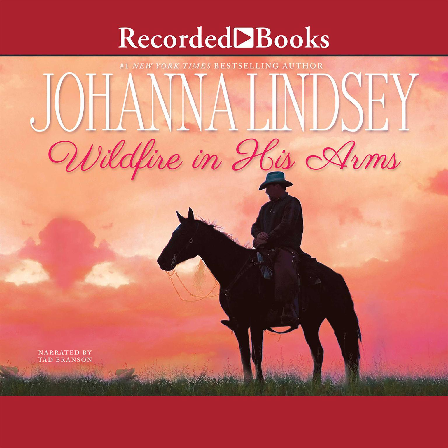 Printable Wildfire in His Arms Audiobook Cover Art