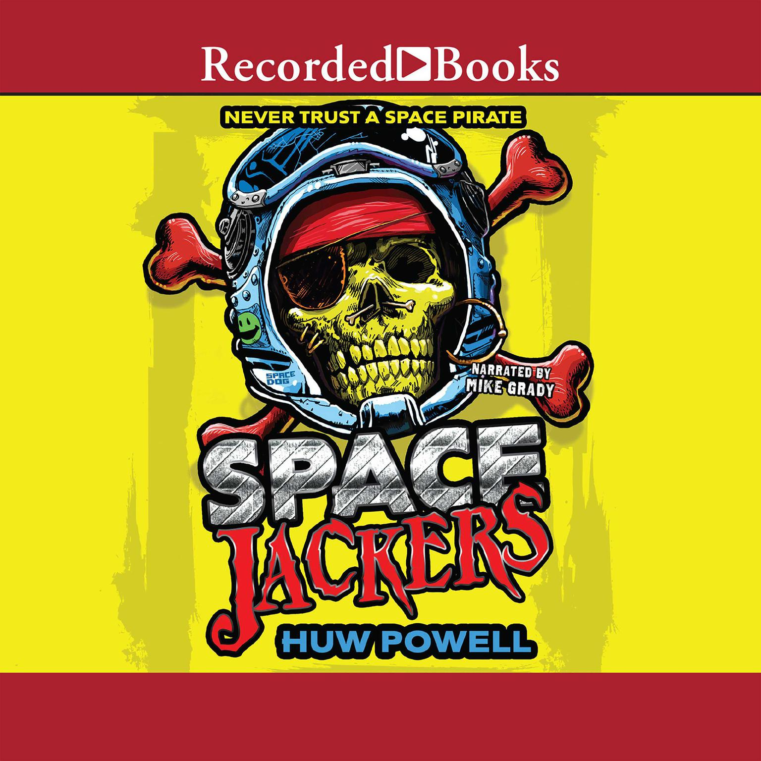 Printable Spacejackers Audiobook Cover Art